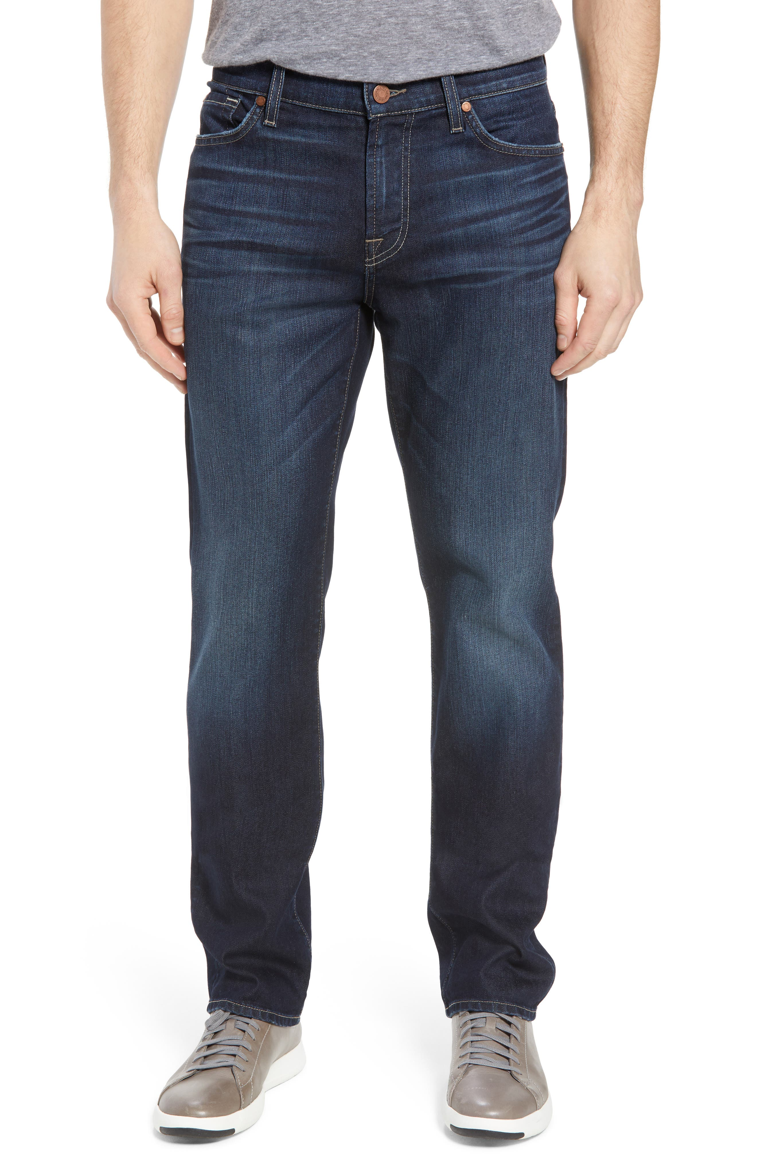 Airweft Standard Straight Leg Jeans,                             Main thumbnail 1, color,                             405