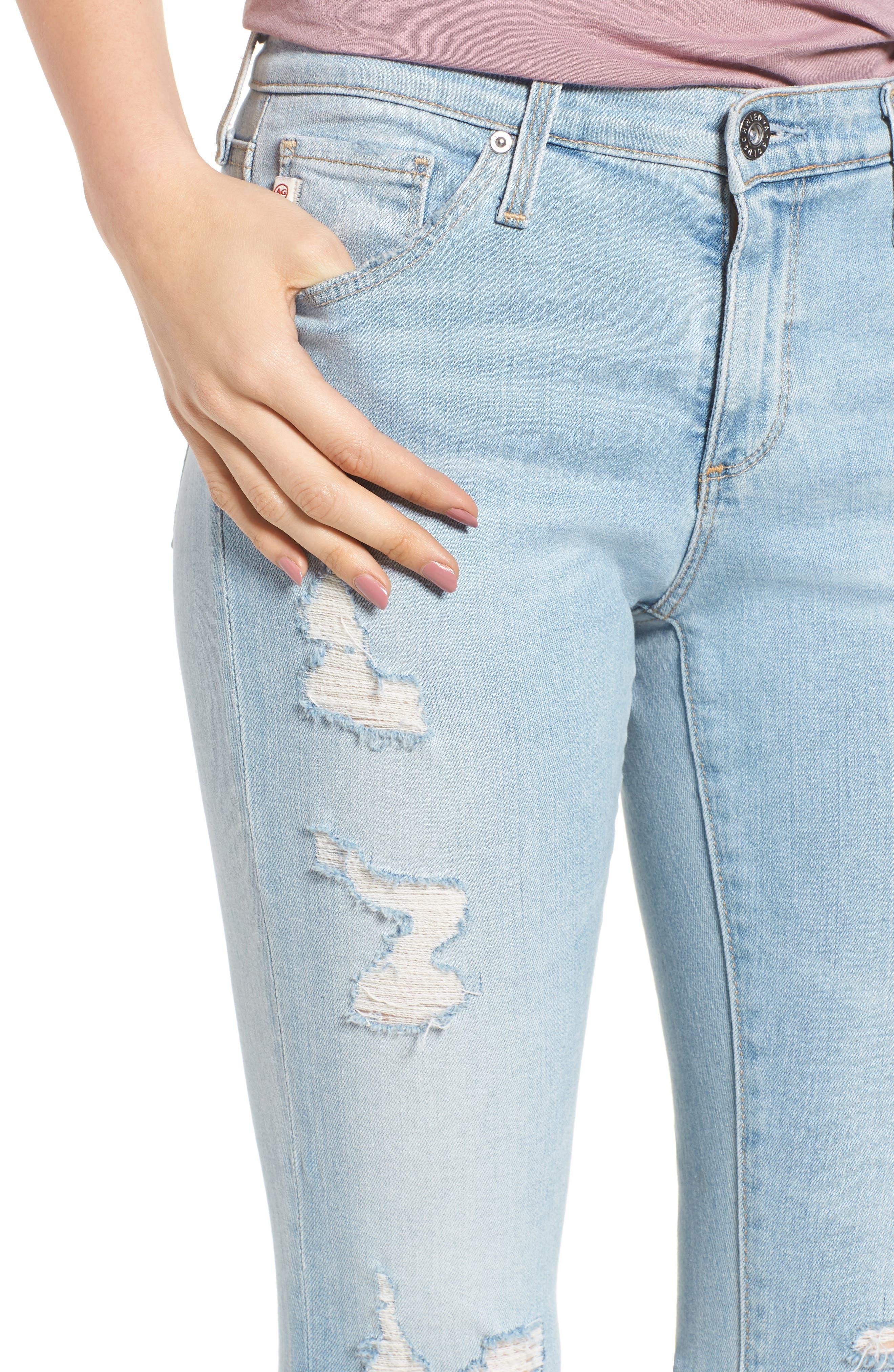 The Legging Ankle Super Skinny Jeans,                             Alternate thumbnail 56, color,