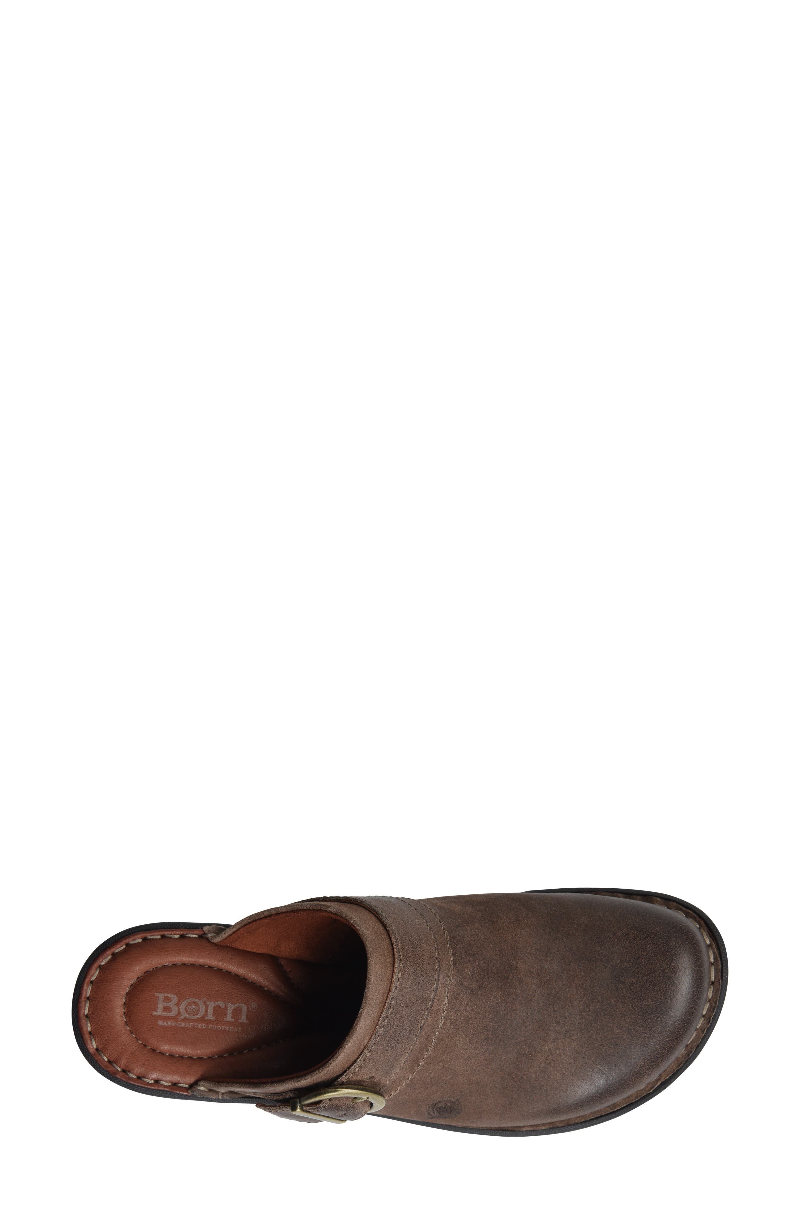 BØRN,                             Avoca Clog,                             Alternate thumbnail 5, color,                             TAUPE DISTRESSED LEATHER