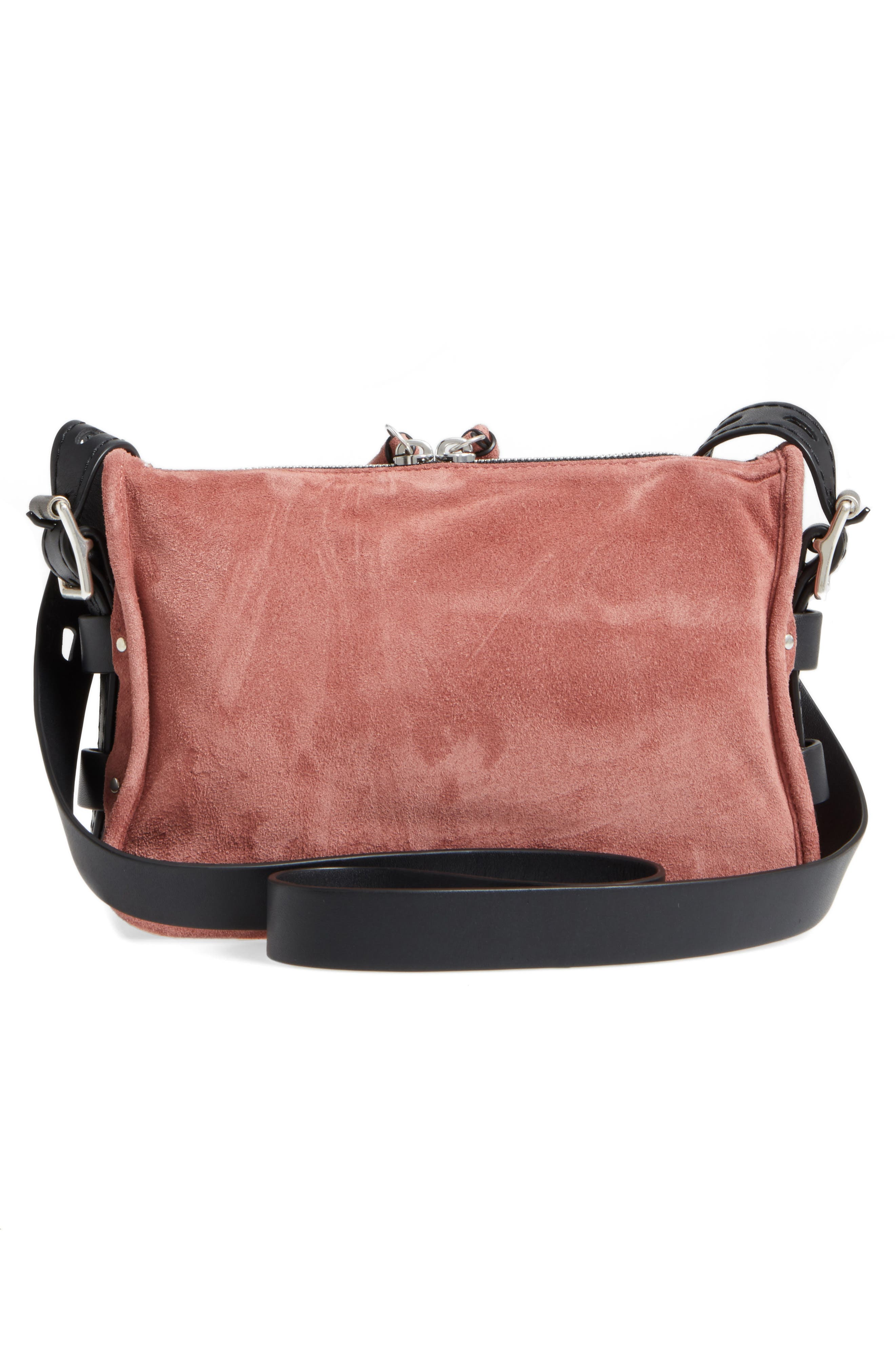Small Leather Field Messenger Bag,                             Alternate thumbnail 6, color,