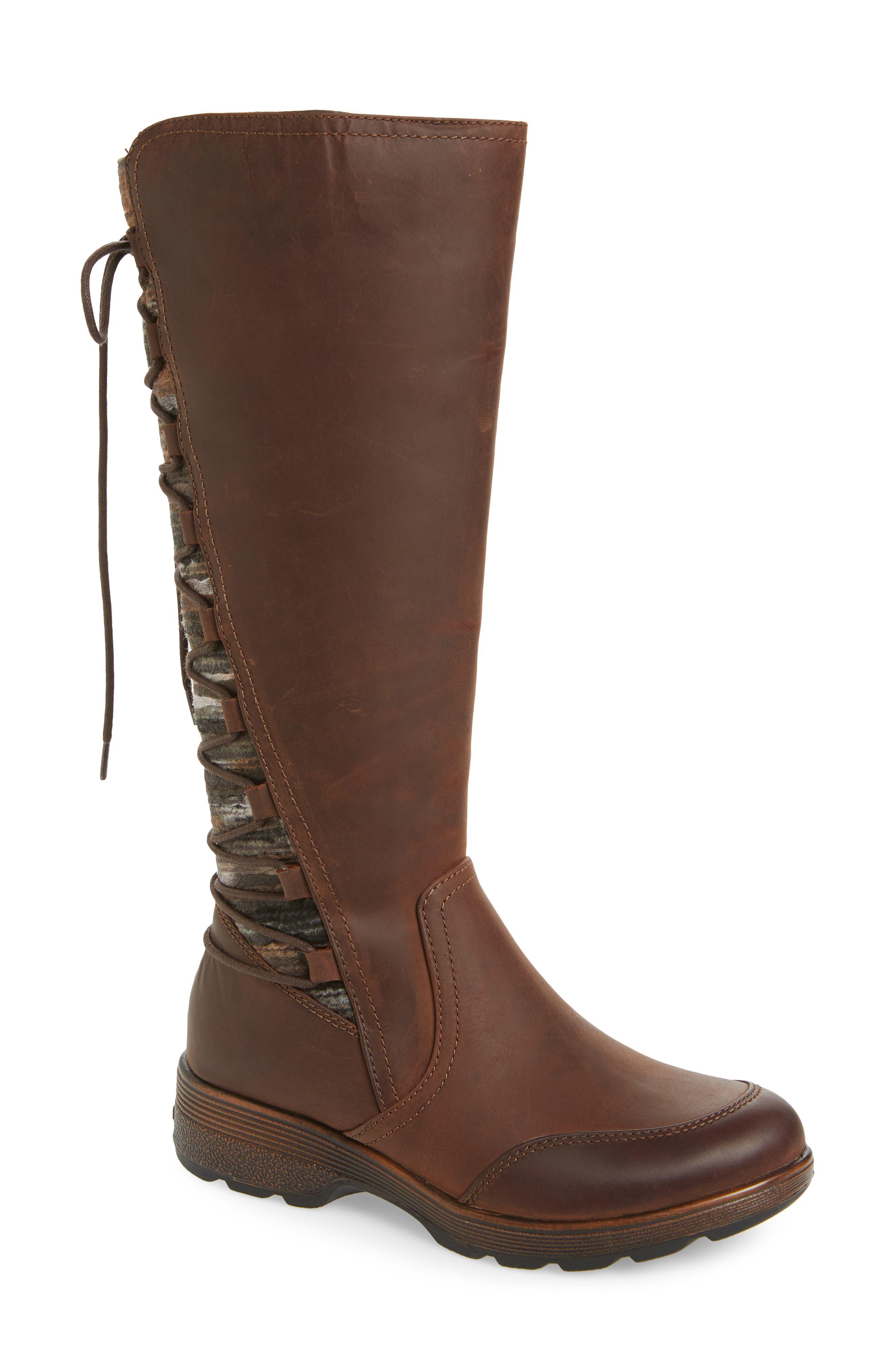 Bionica Epping Waterproof Knee High Boot- Brown
