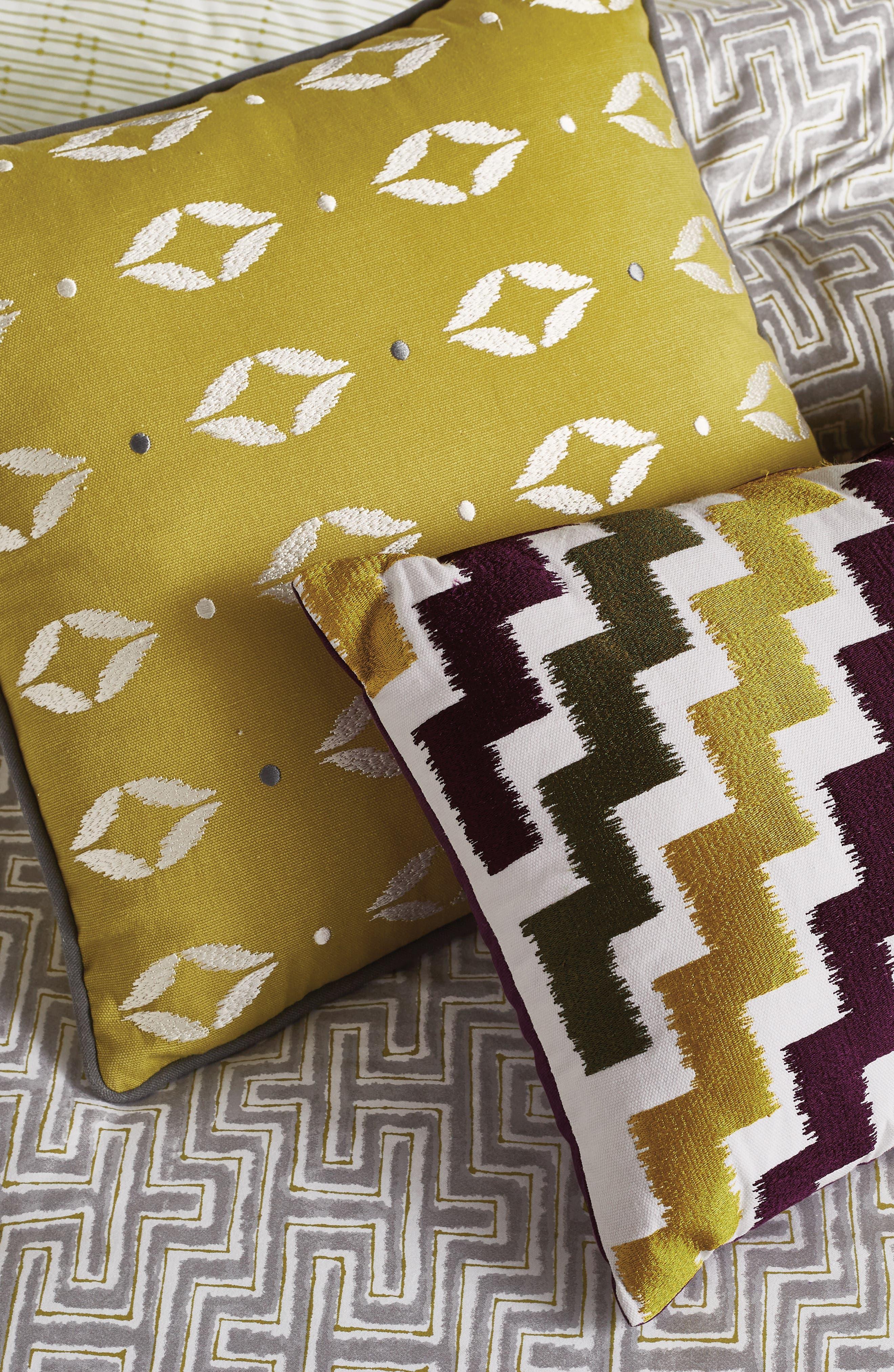 BEDECK,                             Koba Comforter, Sham & Accent Pillow Set,                             Alternate thumbnail 4, color,                             LIGHT GREY