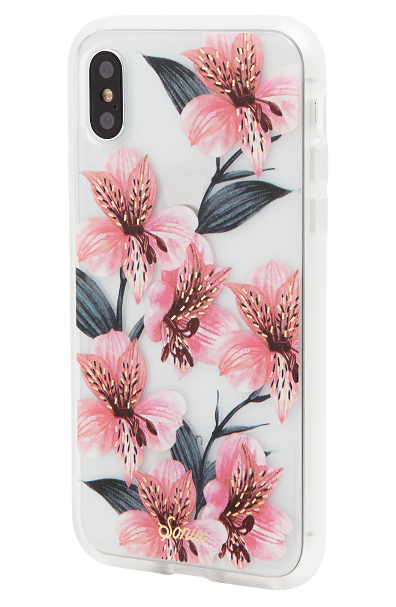 Tiger Lily iPhone X/Xs Case,                             Alternate thumbnail 2, color,                             650