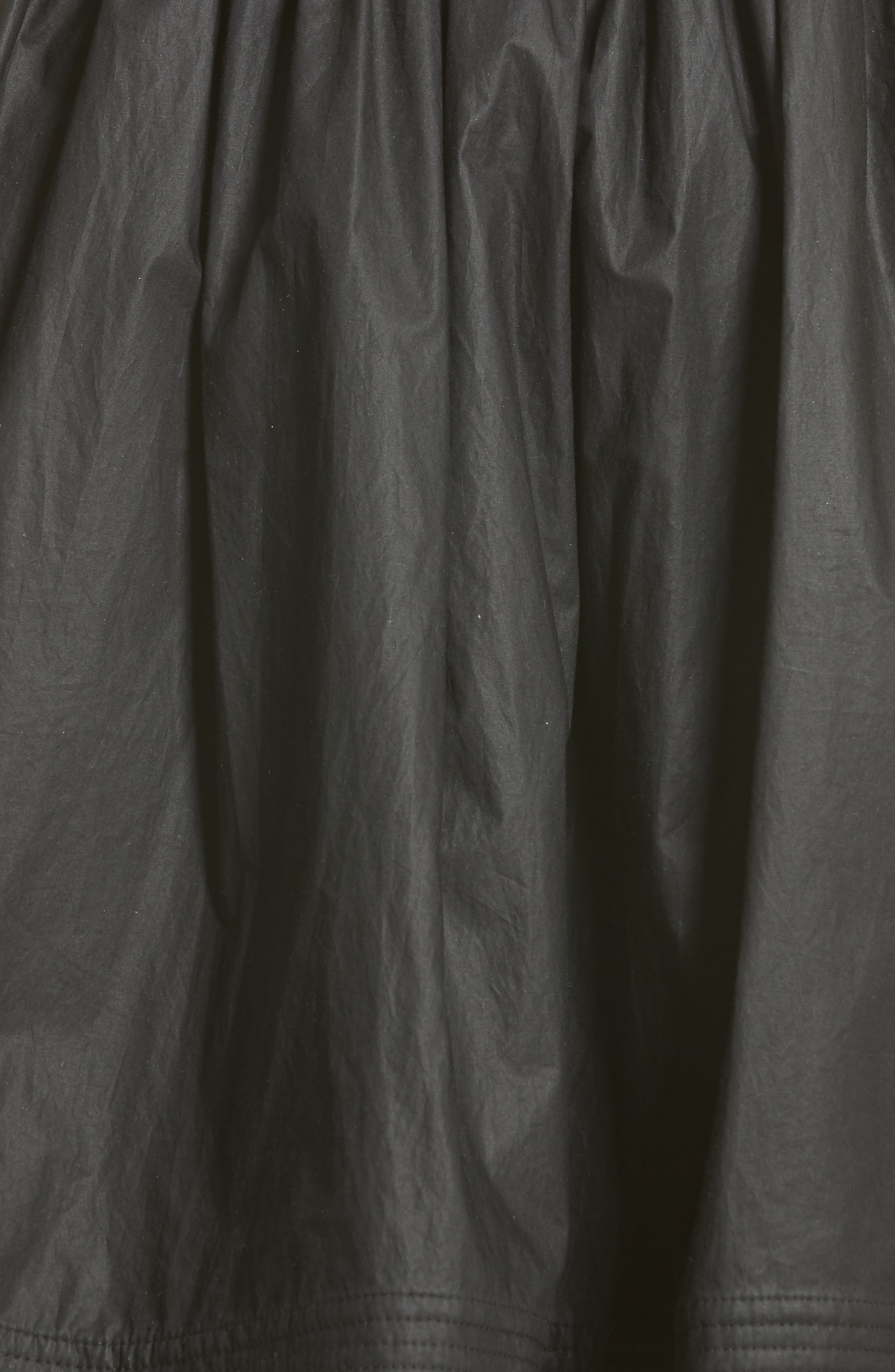 Gonna Cotton A-Line Skirt,                             Alternate thumbnail 5, color,