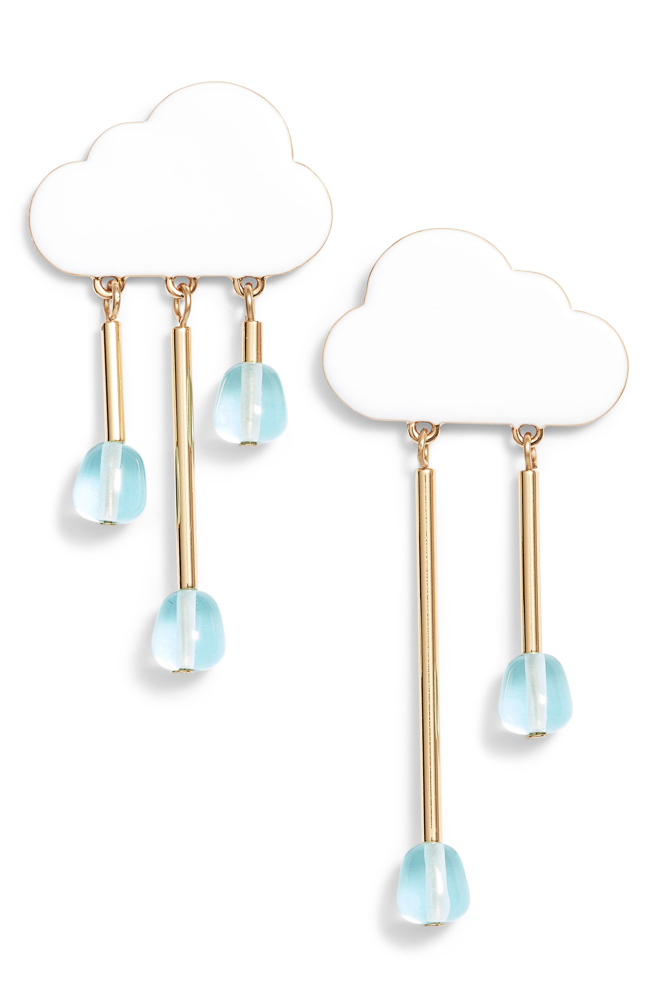 Chance of Rain Drop Earrings,                         Main,                         color, 100