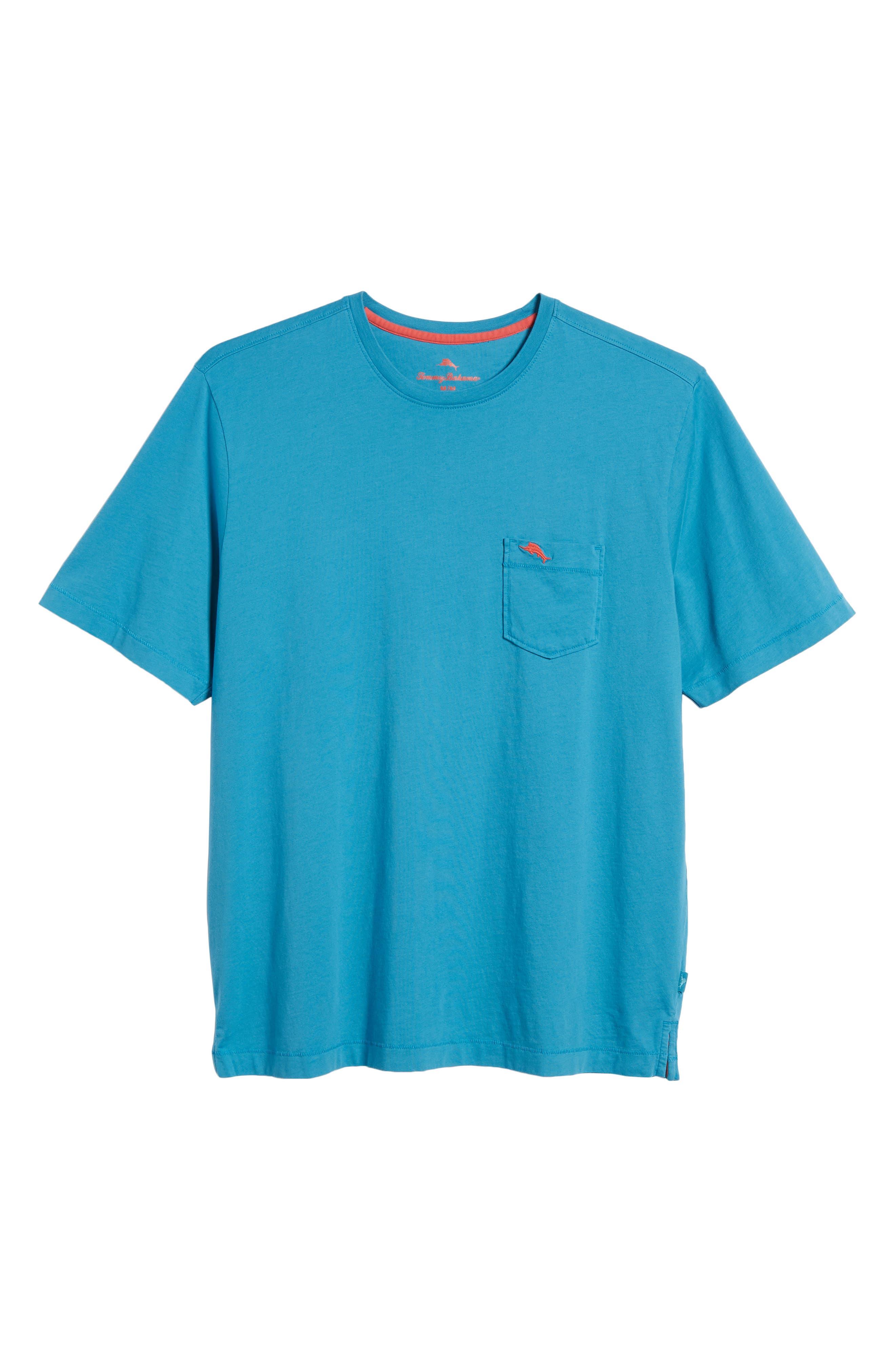 TOMMY BAHAMA,                             New Bali Sky Pima Cotton Pocket T-Shirt,                             Alternate thumbnail 6, color,                             410
