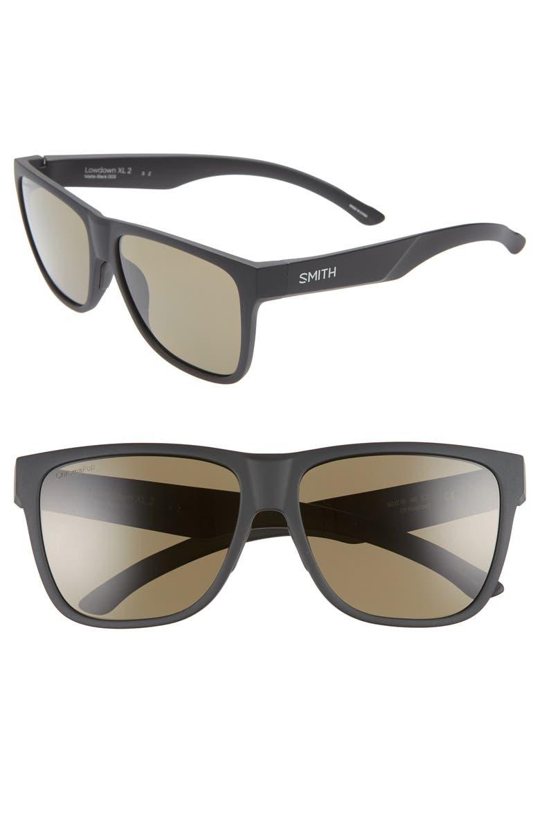 e47192a216 SMITH Lowdown XL 2 60mm ChromaPop sup ™  sup  Square Sunglasses