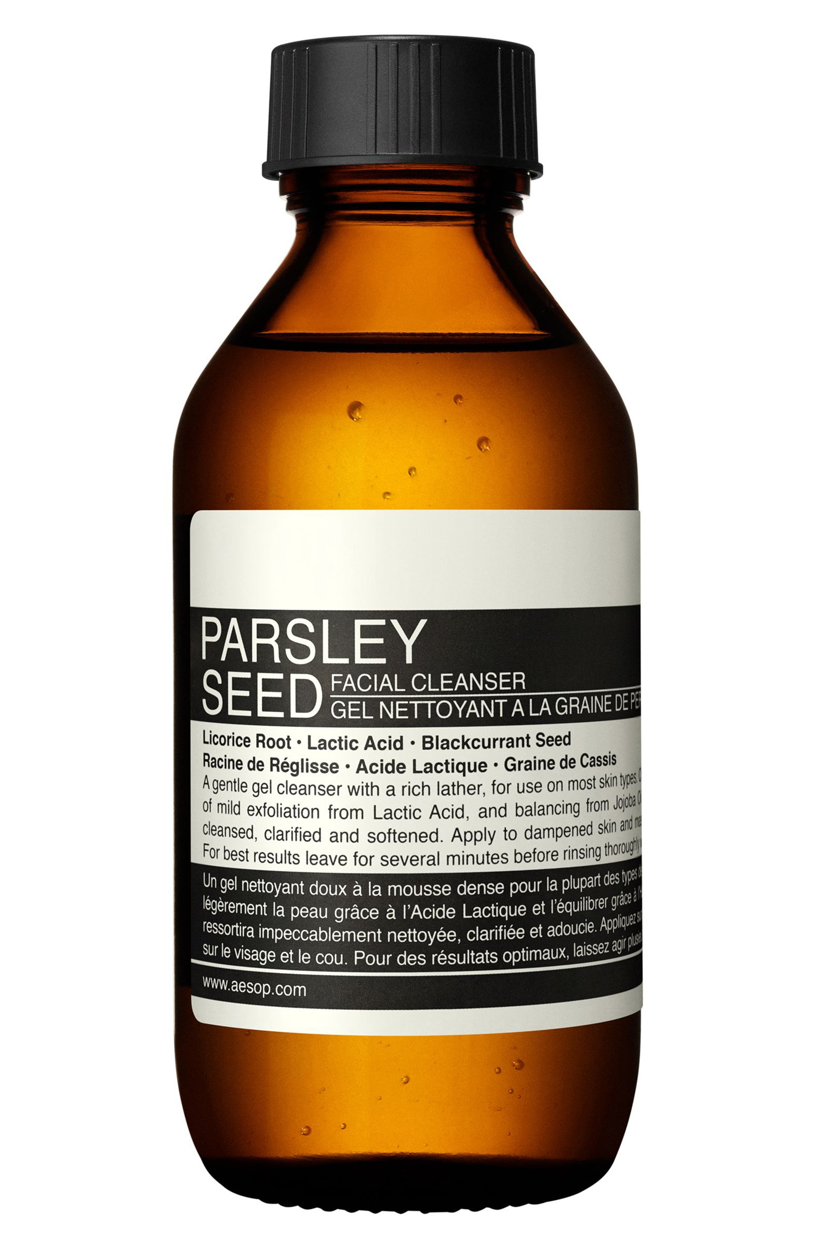 Parsley Seed Facial Cleanser,                             Main thumbnail 1, color,                             NONE
