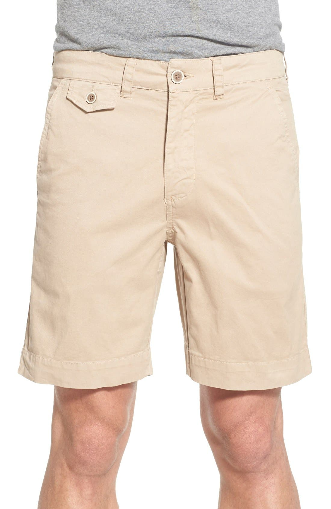 'Sunny' Stretch Chino Shorts,                             Main thumbnail 3, color,