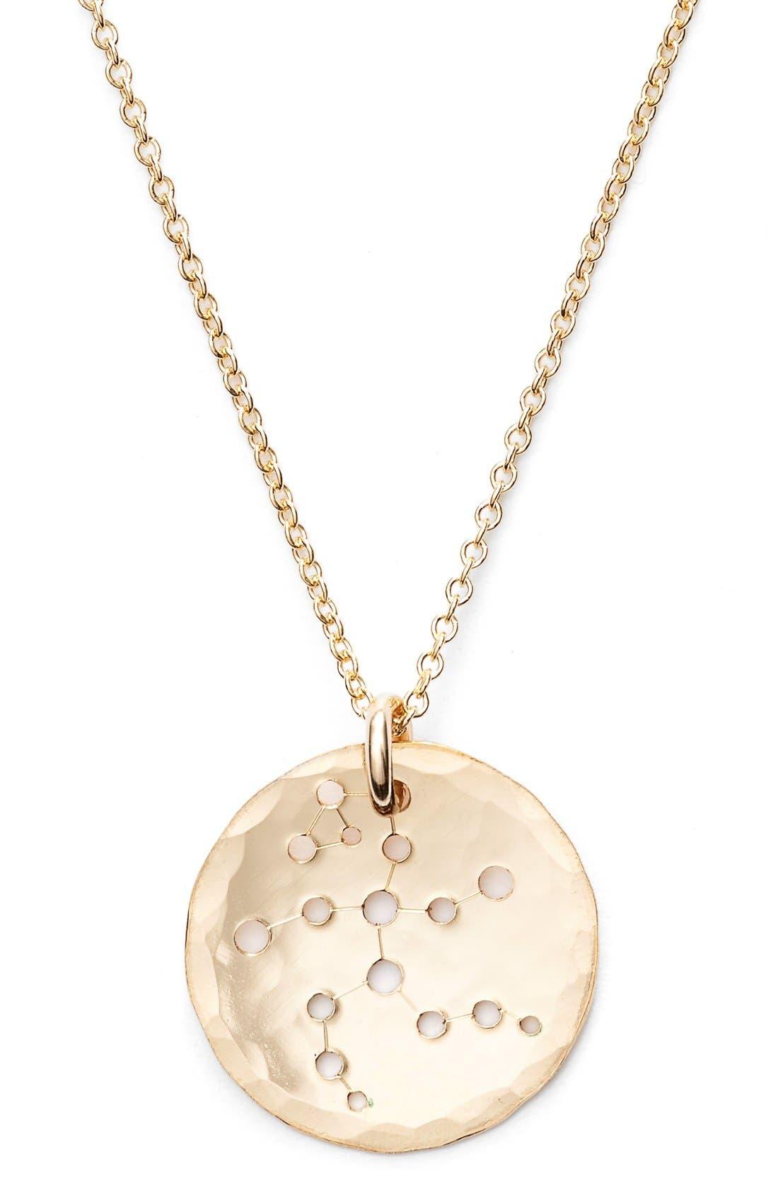 Ija 'Small Zodiac' 14k-Gold Fill Necklace,                             Alternate thumbnail 30, color,