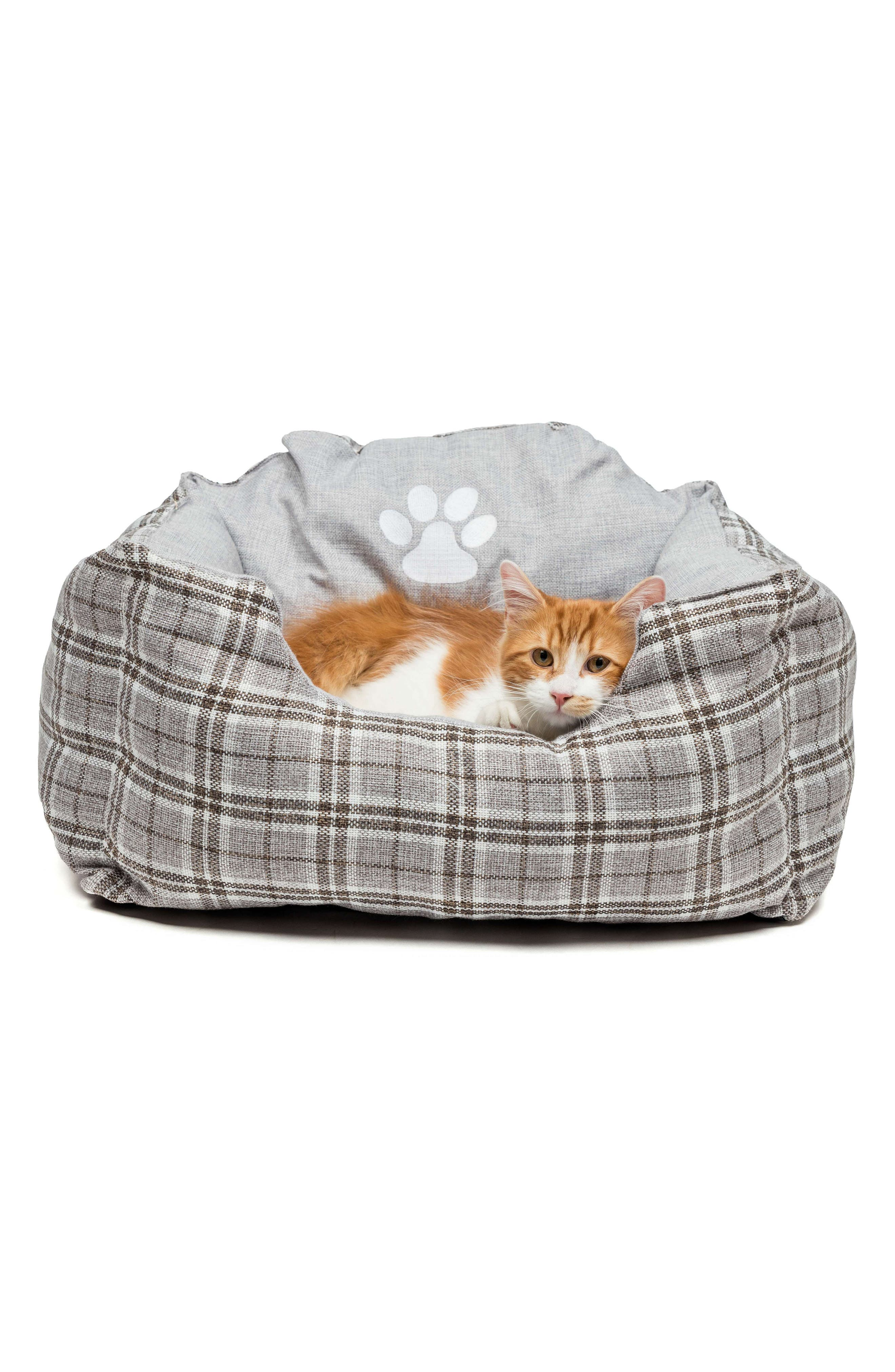 Harlee Large Square Pet Bed,                             Alternate thumbnail 3, color,                             020