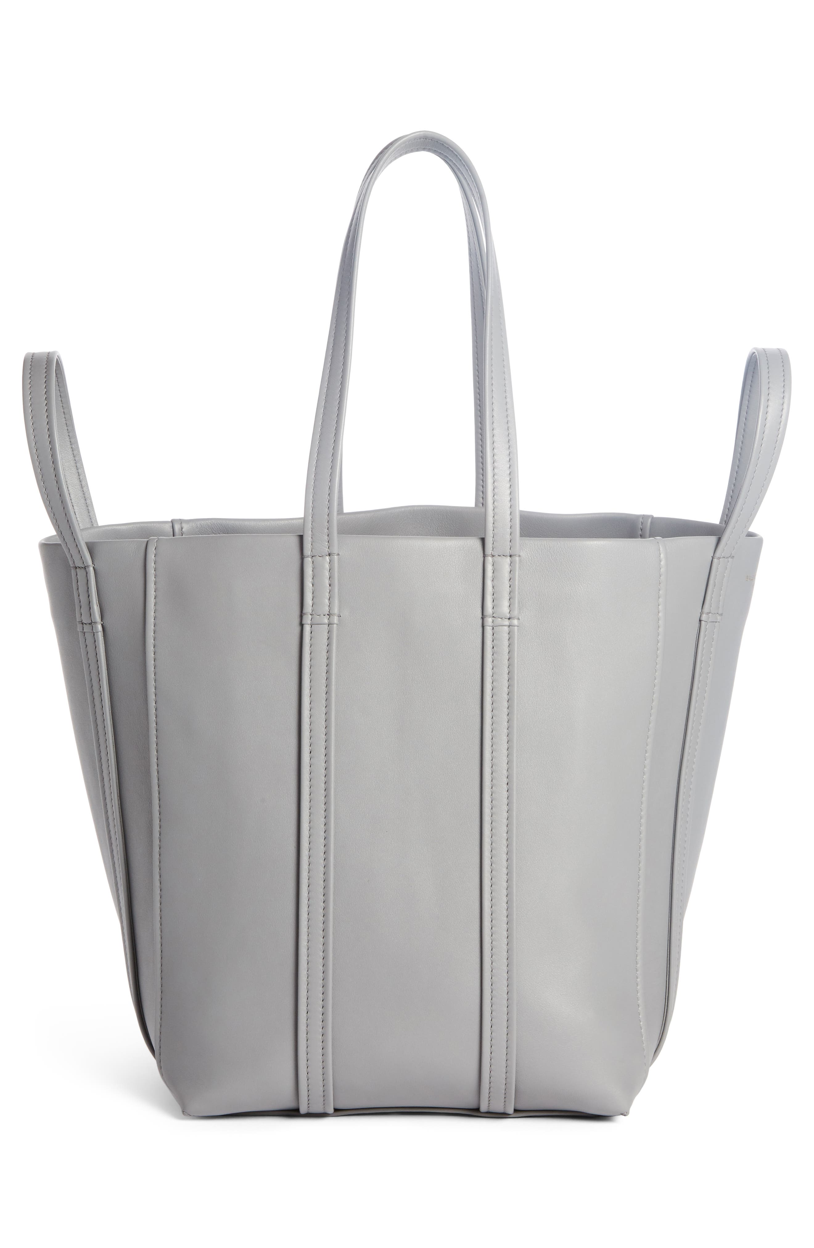 Large Laundry Cabas Calfskin Tote,                             Alternate thumbnail 2, color,                             022