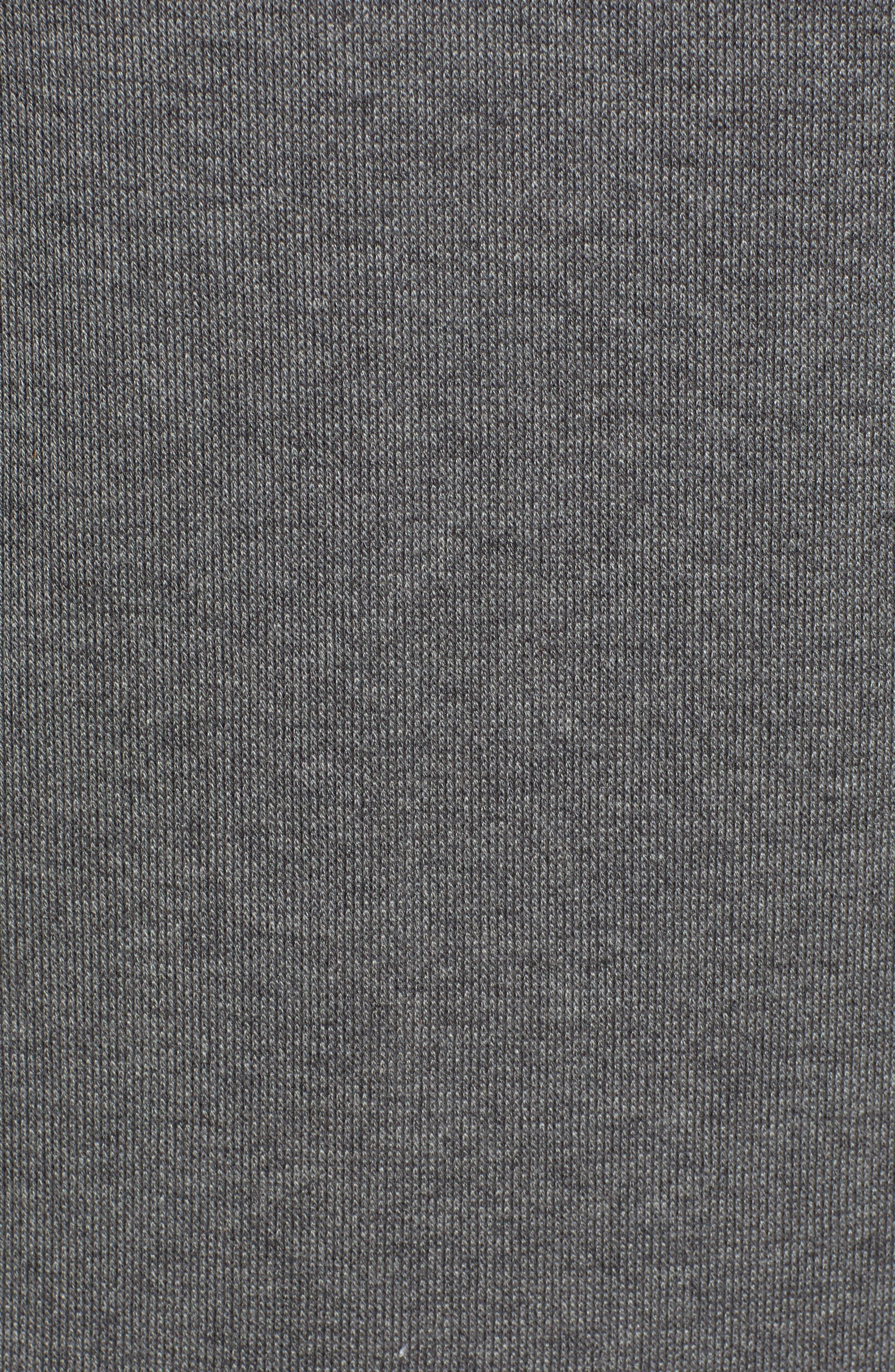 Debasti Cotton Zip Hoodie,                             Alternate thumbnail 5, color,                             081