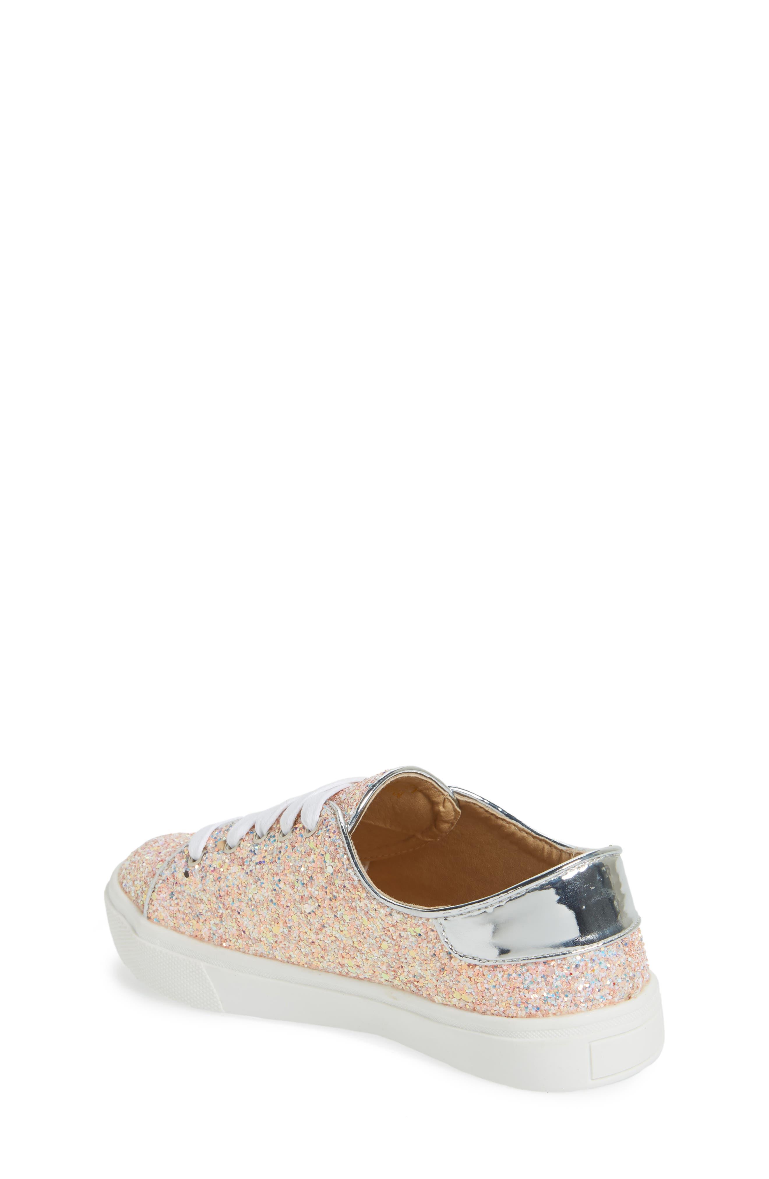 YOSI SAMRA,                             Miss Bowery Glitter Sneaker,                             Alternate thumbnail 2, color,                             182