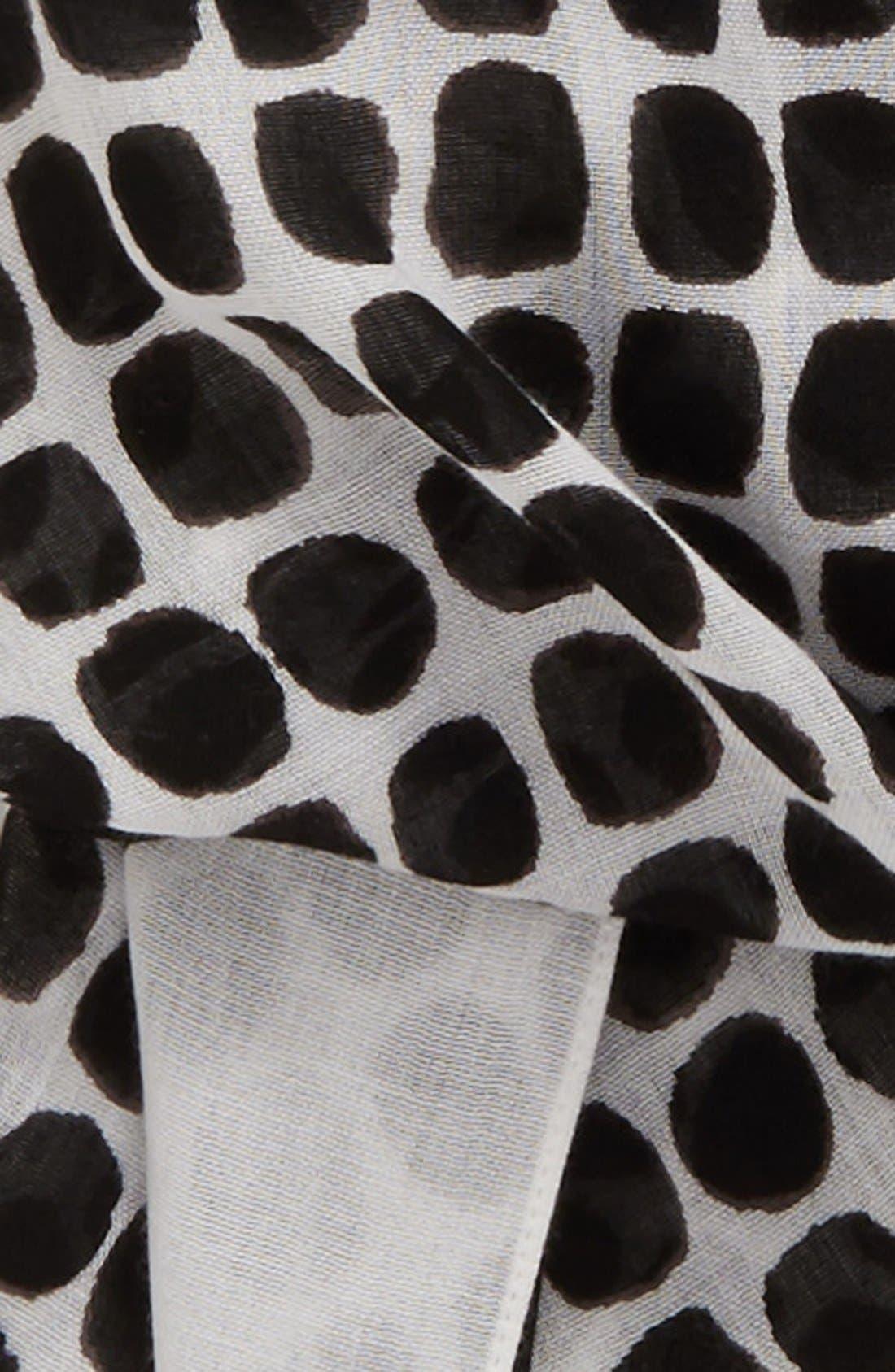 'seaglass dots' scarf,                             Alternate thumbnail 3, color,                             013