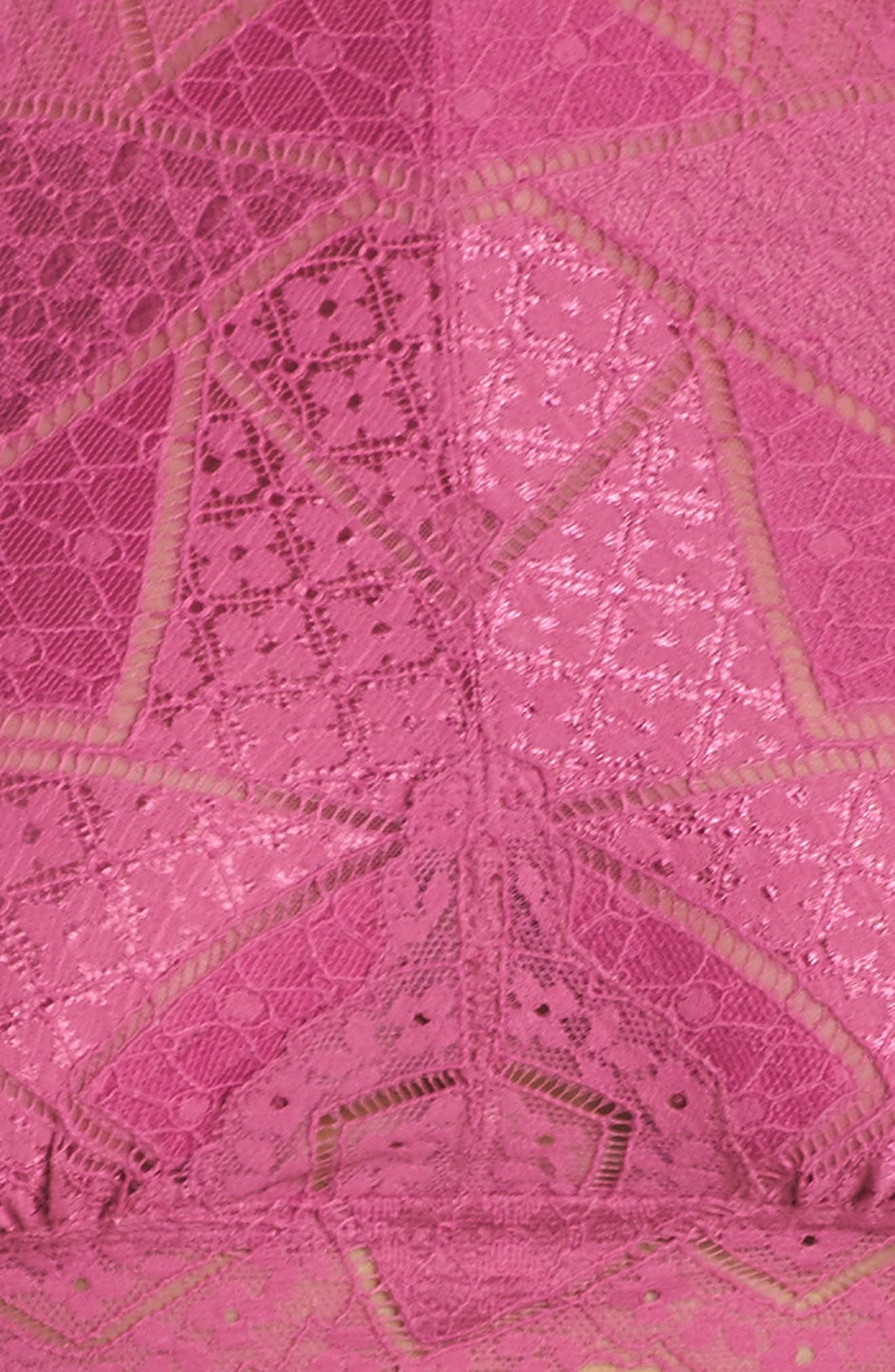 Intimately FP Moonstruck Lace Longline Halter Bralette,                             Alternate thumbnail 15, color,