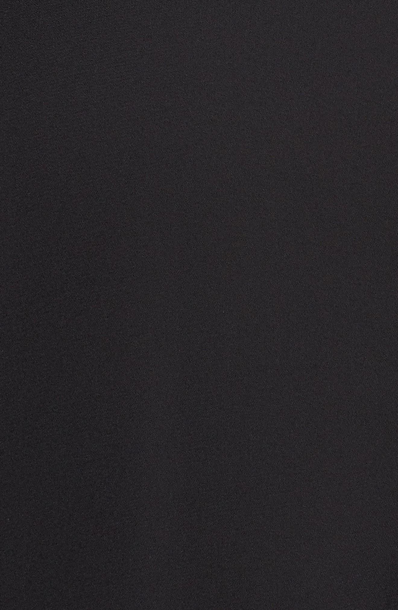 Notch Collar Henley Tunic,                             Alternate thumbnail 5, color,                             001