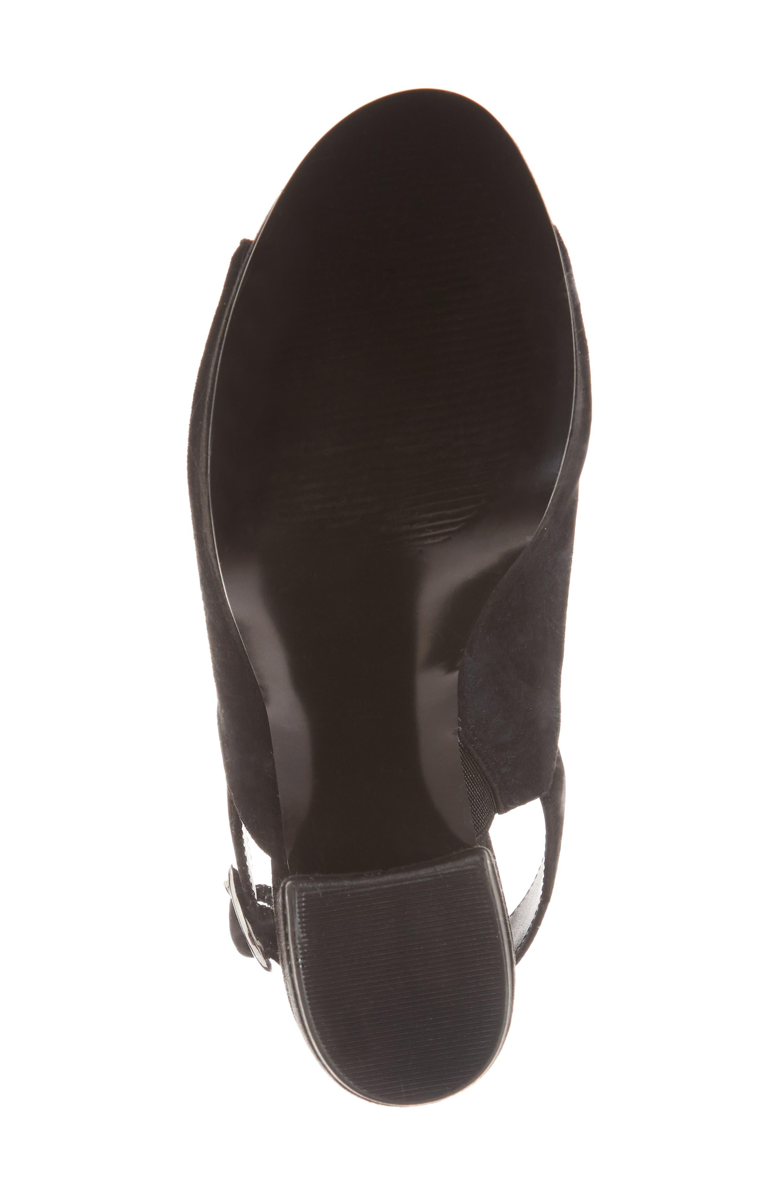 Carter Slingback Platform Sandal,                             Alternate thumbnail 6, color,                             006