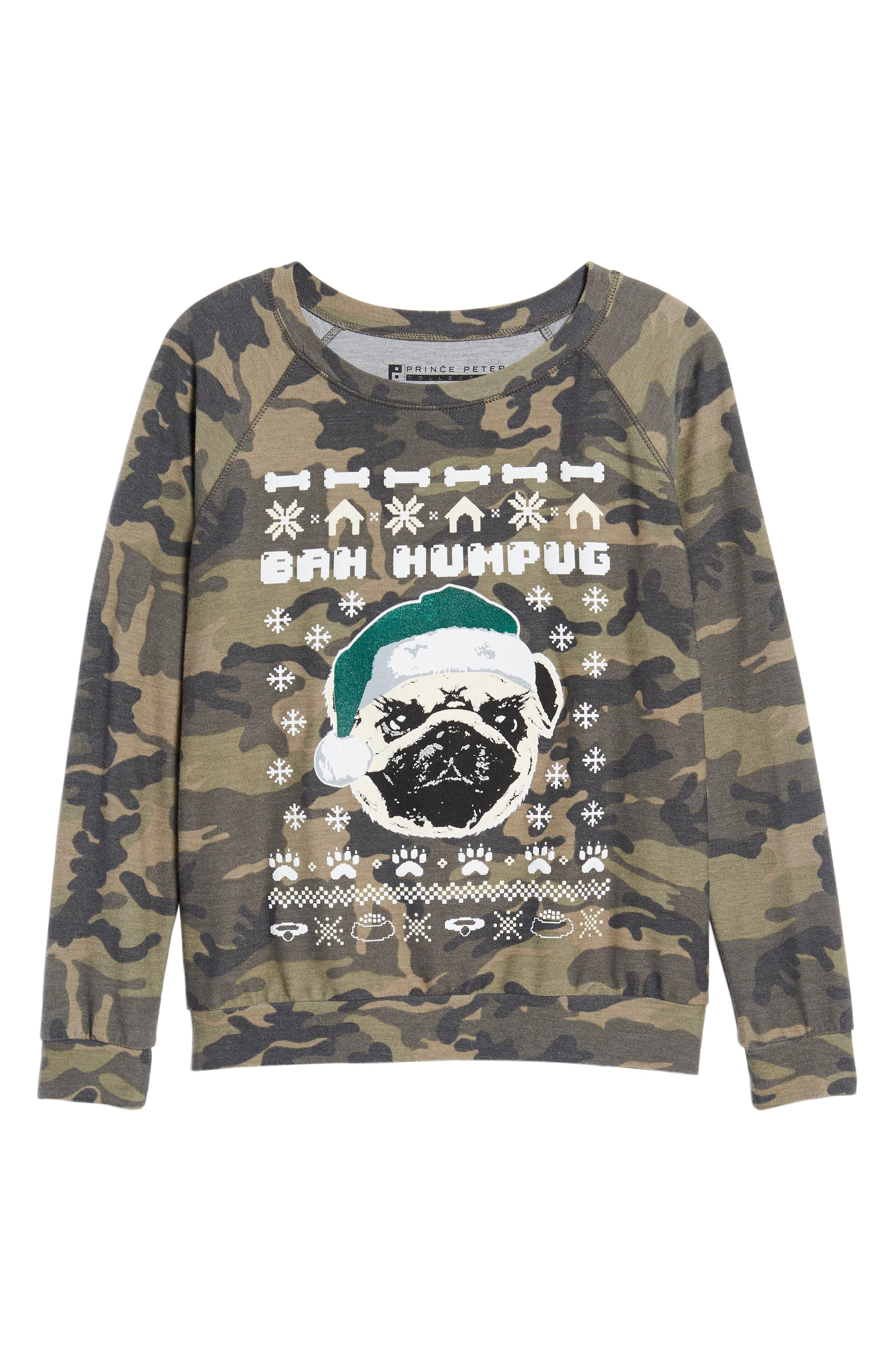 Bah Humpug Sweatshirt,                             Alternate thumbnail 6, color,                             300