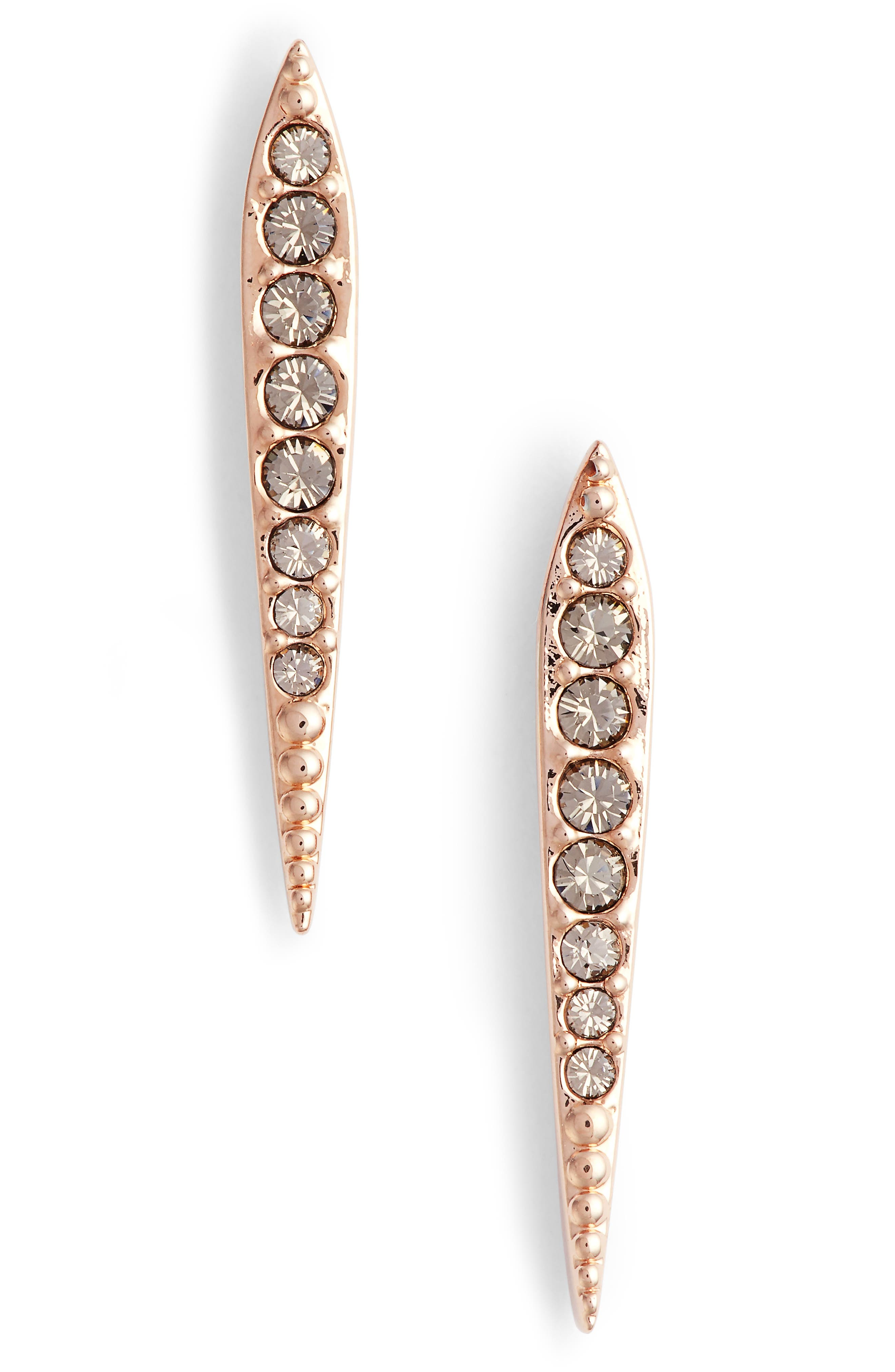 Cubic Zirconia Drop Earrings,                             Main thumbnail 2, color,