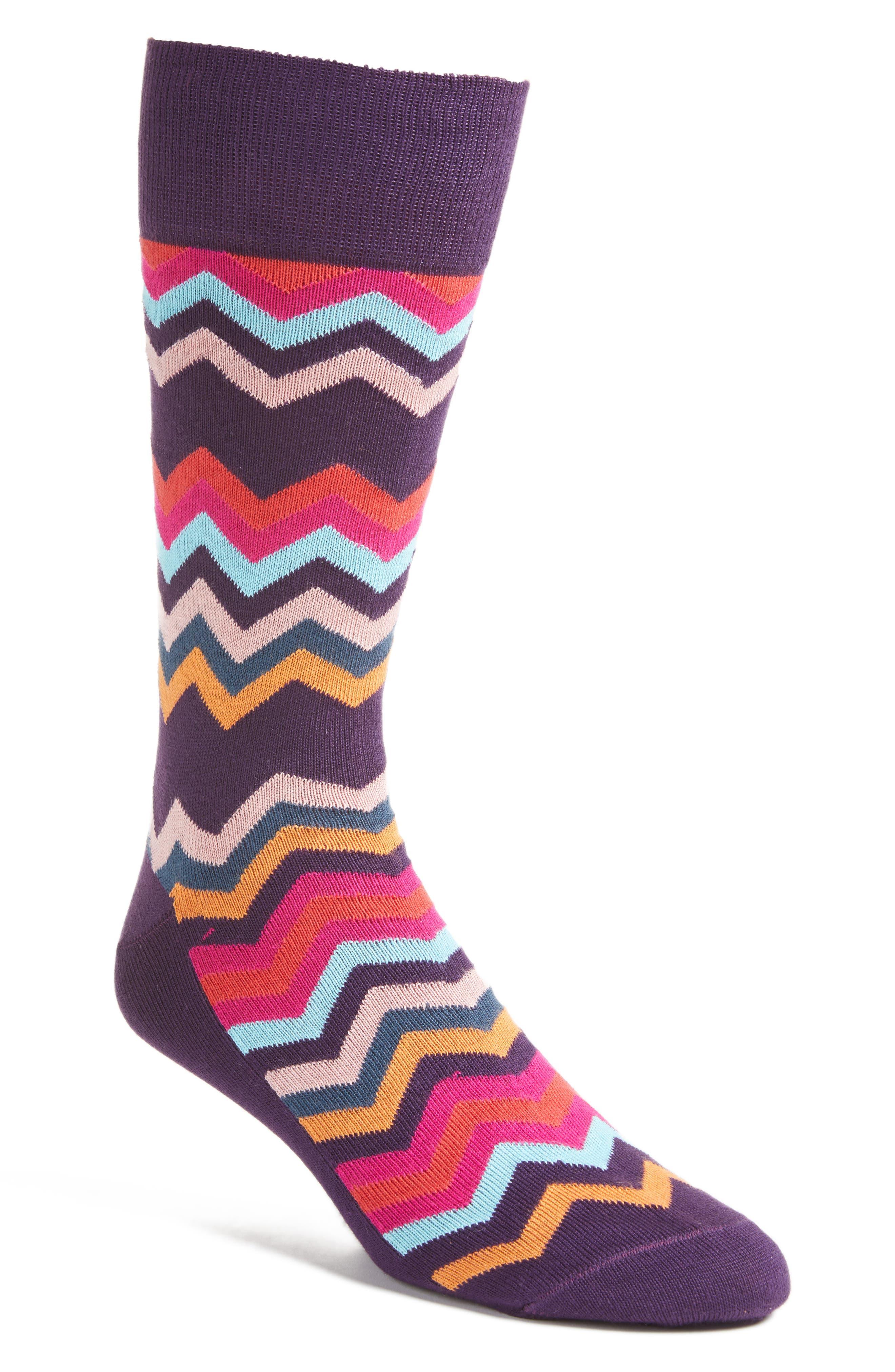 Fleet Chevron Socks,                             Main thumbnail 3, color,
