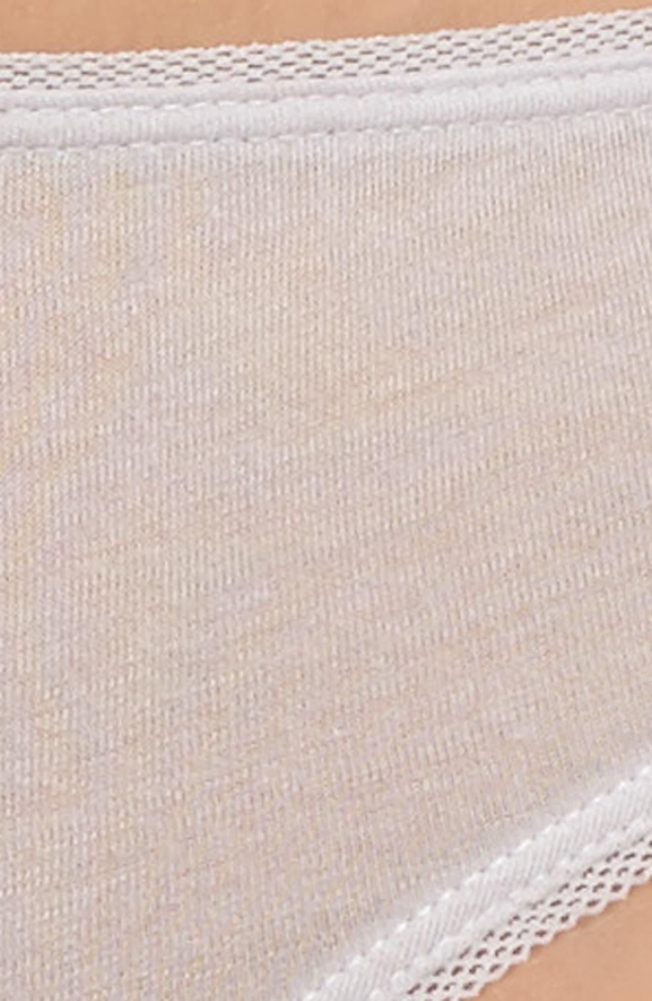 Organic Pima Cotton Thong,                             Alternate thumbnail 4, color,                             532