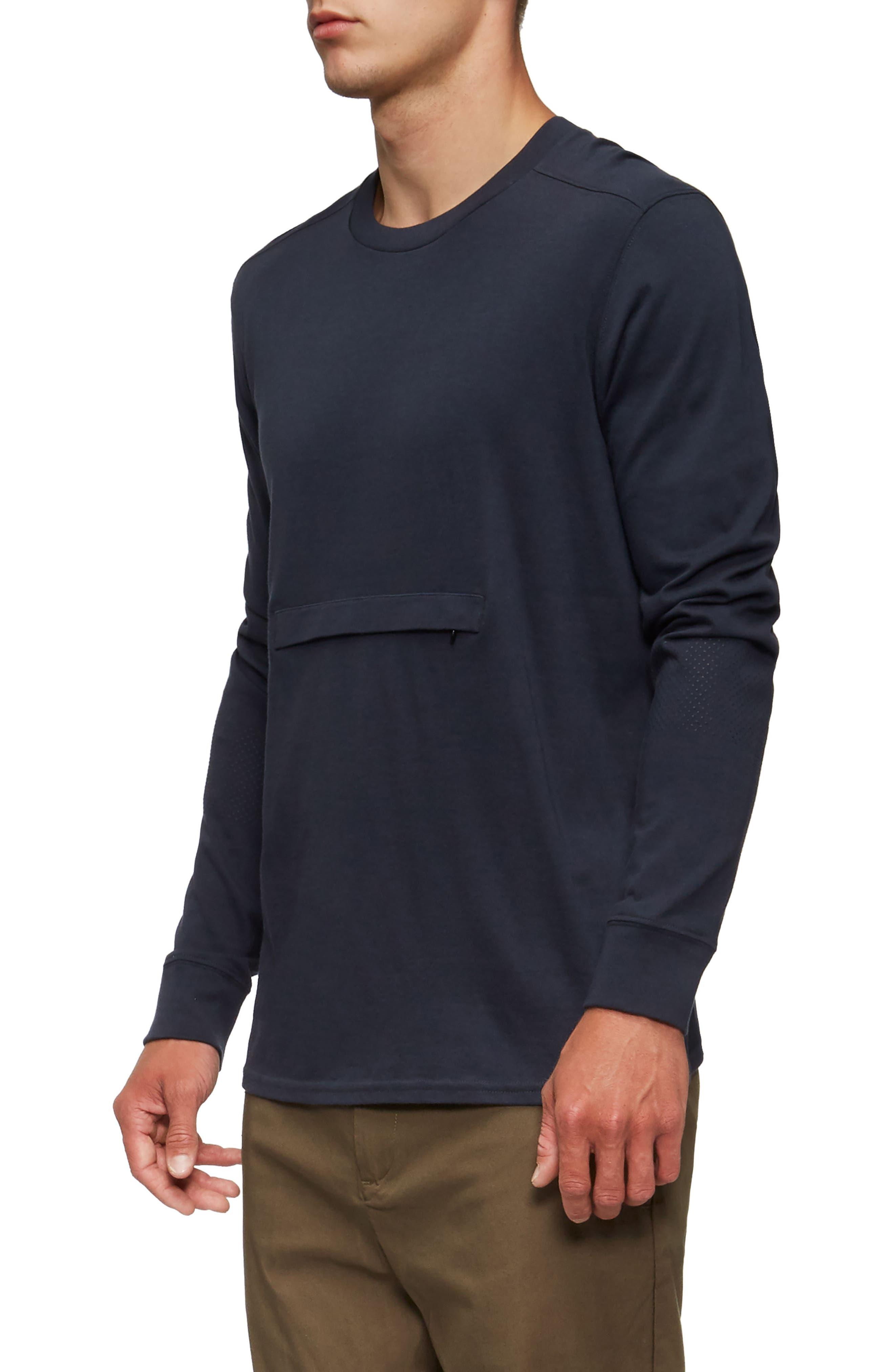 Lowell Long Sleeve T-Shirt,                             Alternate thumbnail 9, color,