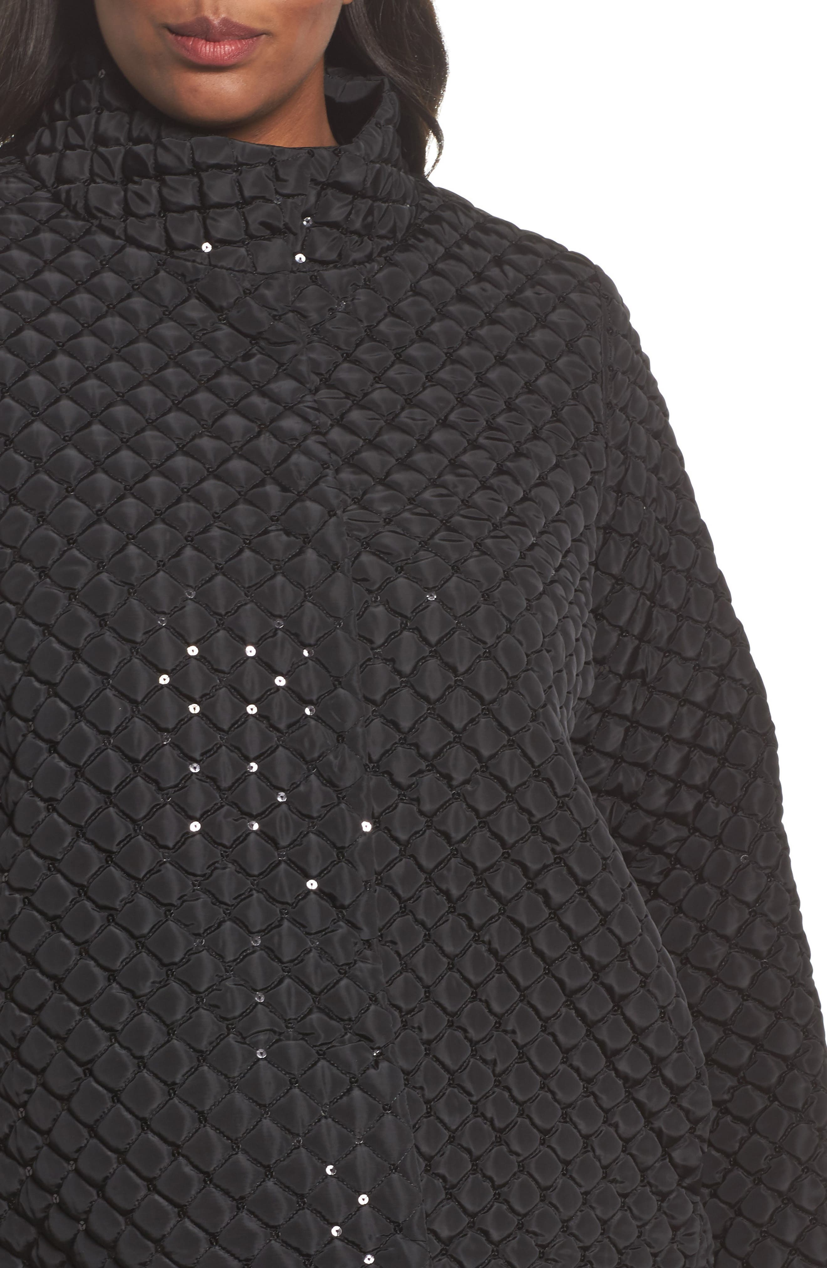 Papaia Sequin Jacket,                             Alternate thumbnail 4, color,                             001
