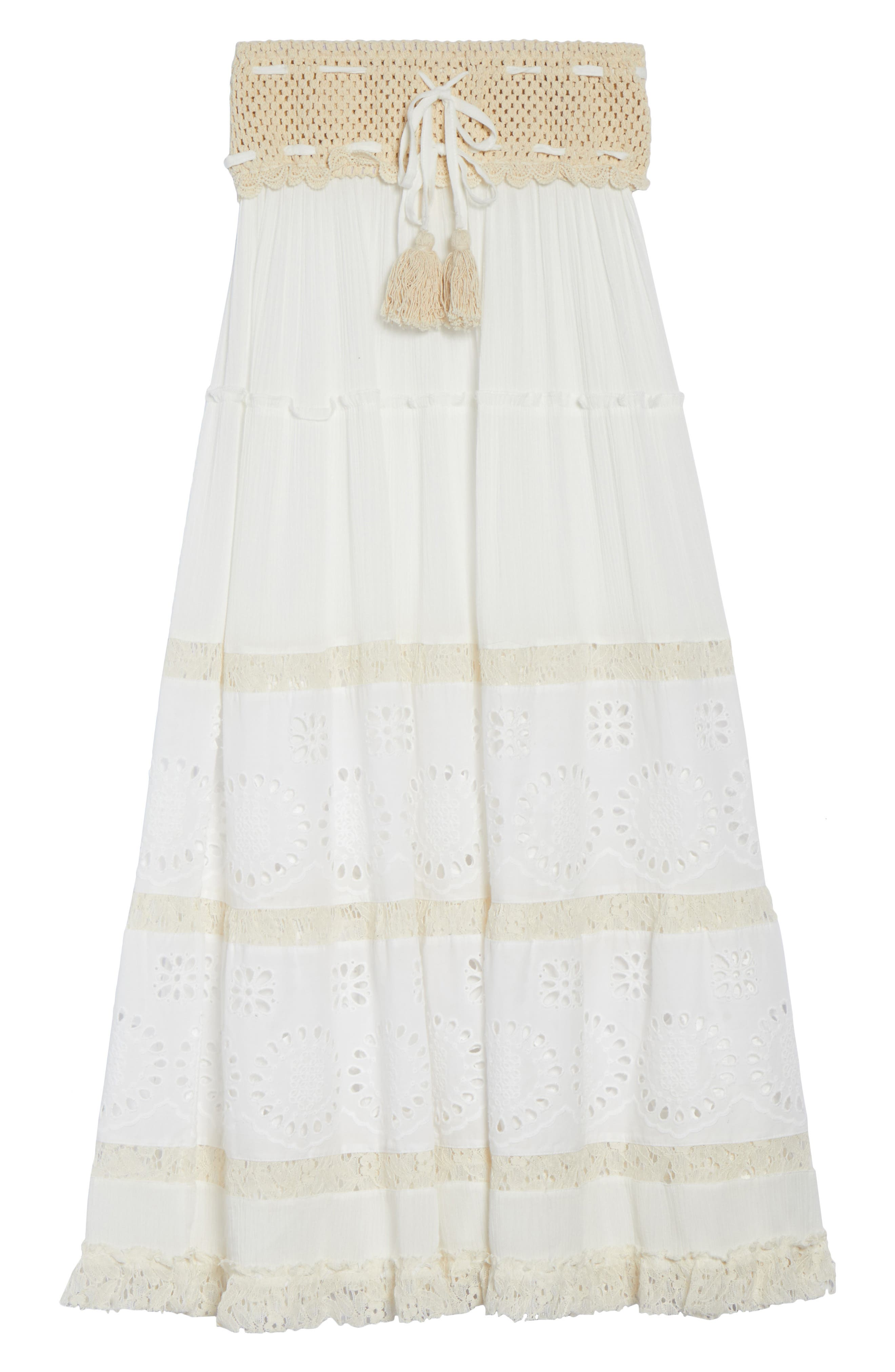 Cover-Up Maxi Skirt,                             Alternate thumbnail 6, color,                             900