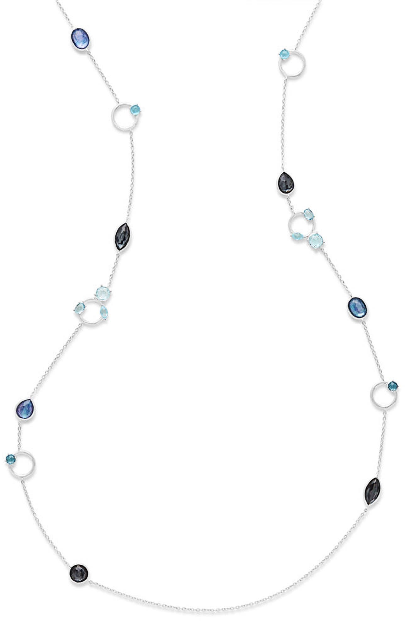 Rock Candy Strand Necklace,                             Alternate thumbnail 3, color,