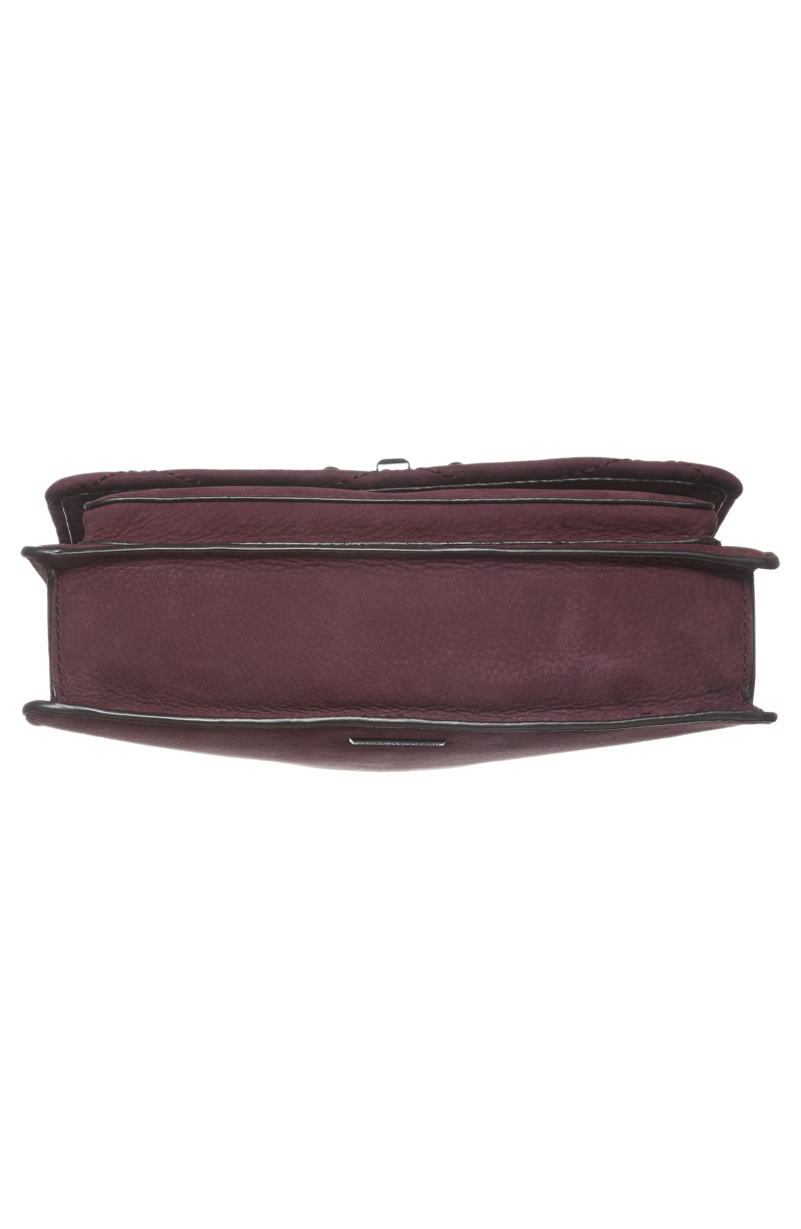 Medium Je T'aime Convertible Leather Crossbody Bag,                             Alternate thumbnail 56, color,