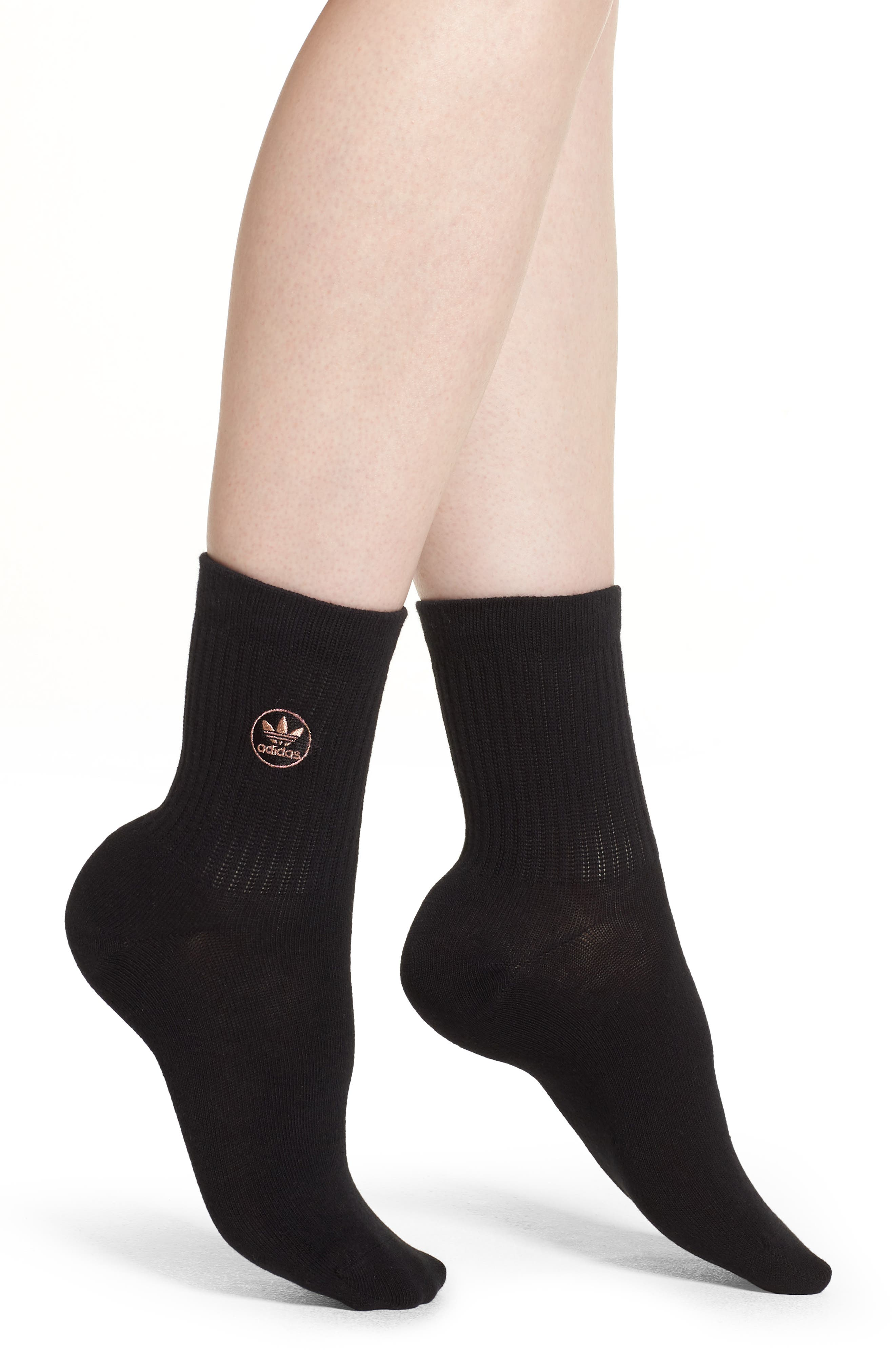Quarter Crew Socks,                         Main,                         color, 001