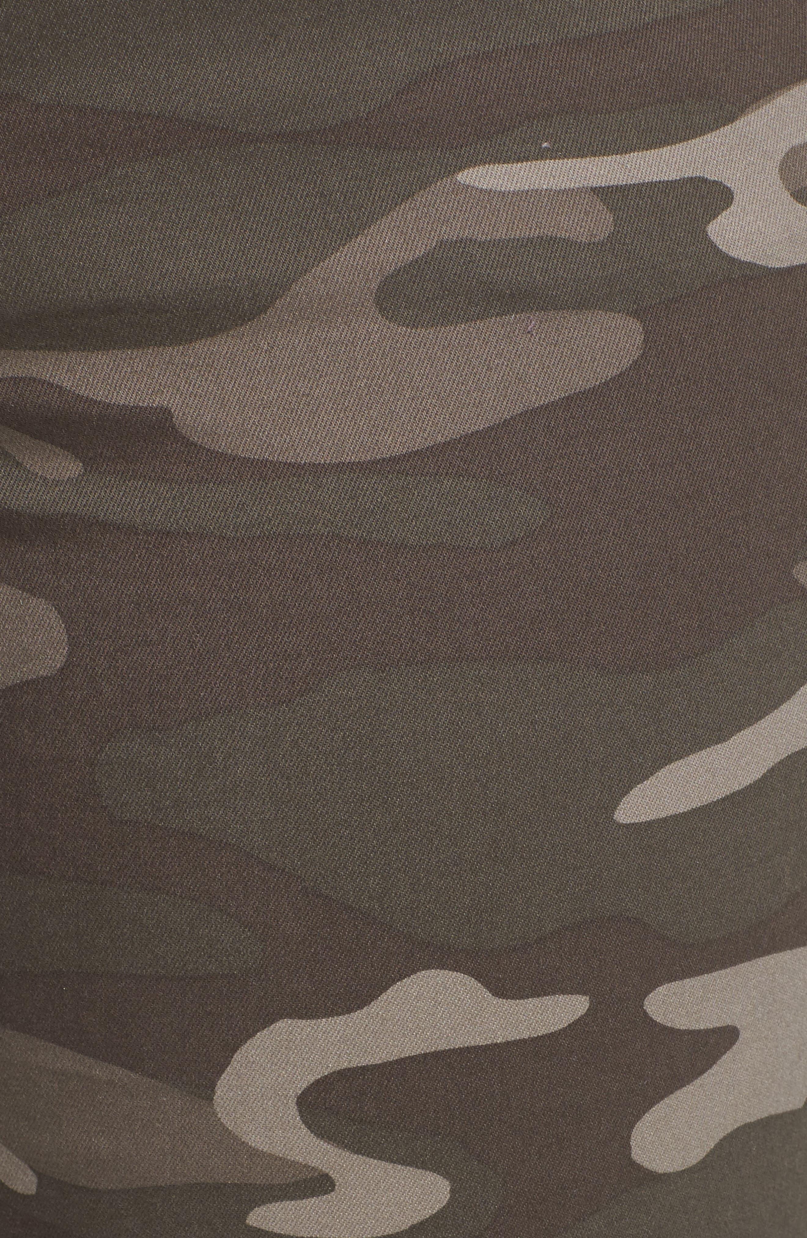 Ab-solution Ankle Skimmer Slit Pants,                             Alternate thumbnail 6, color,                             210
