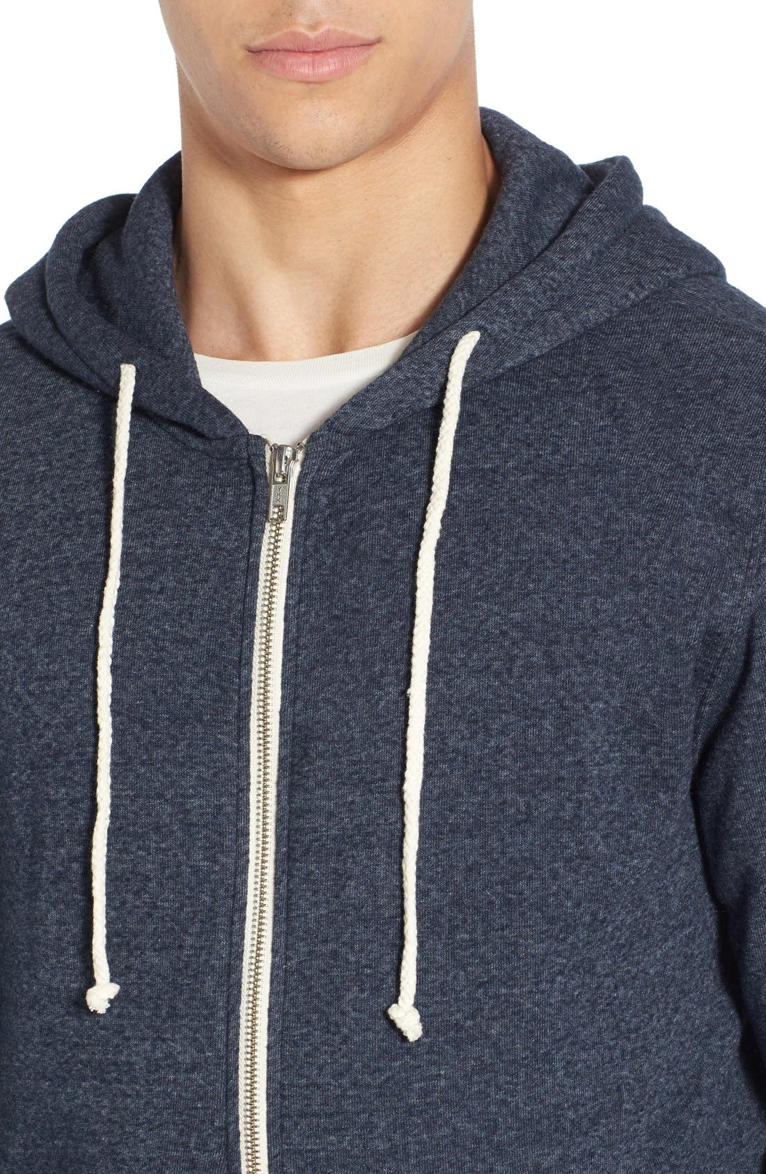 Threads for Thought Trim Fit Heathered Hoodie,                             Alternate thumbnail 38, color,