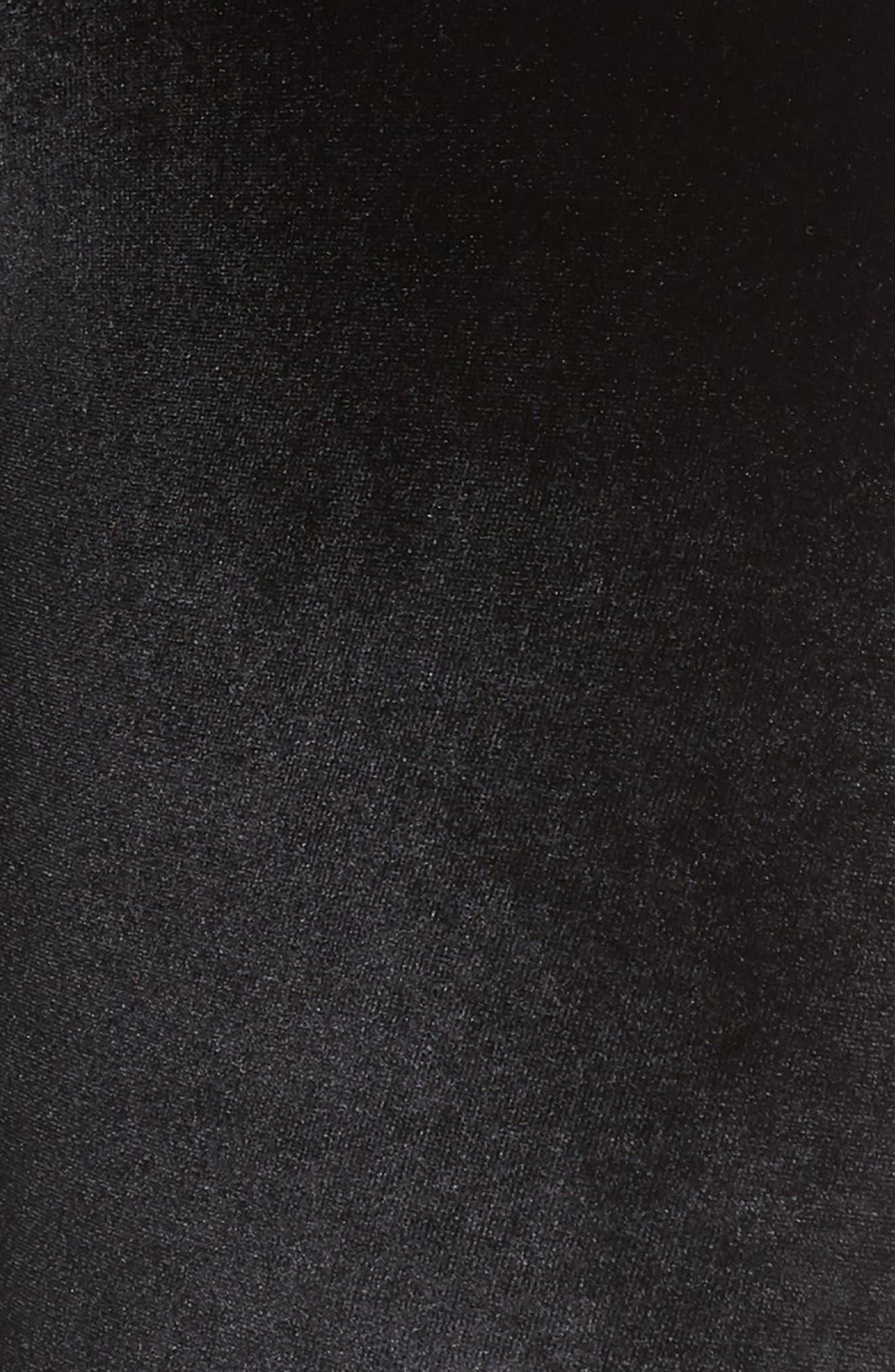 Velvet Motion Leggings,                             Alternate thumbnail 6, color,                             001