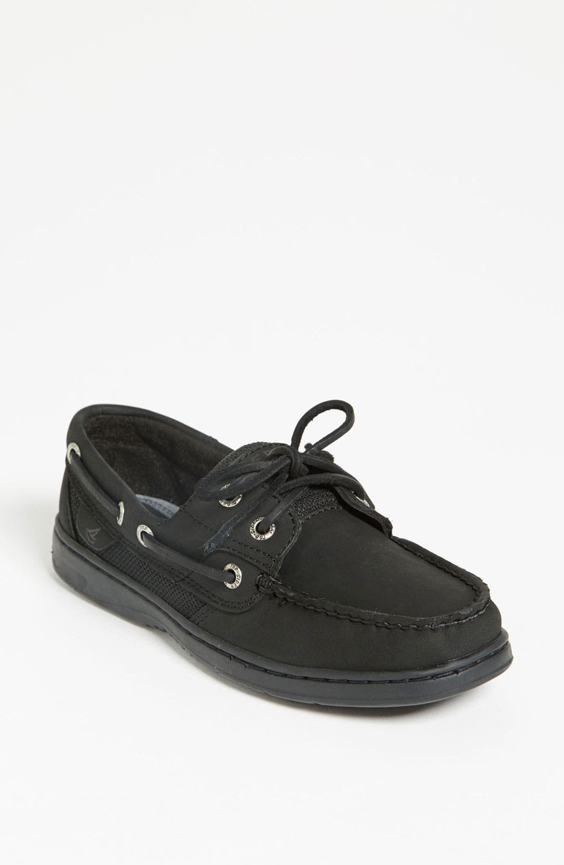 Top-Sider<sup>®</sup> 'Bluefish 2 Eye' Boat Shoe, Main, color, 001