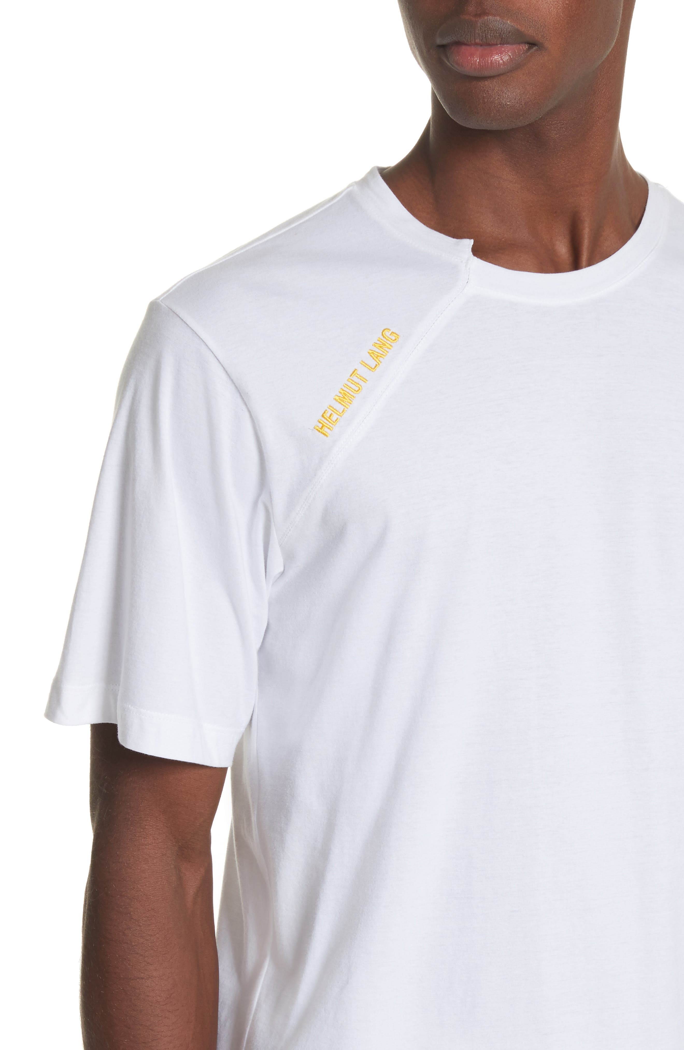 Cut Neck T-Shirt,                             Alternate thumbnail 4, color,                             114