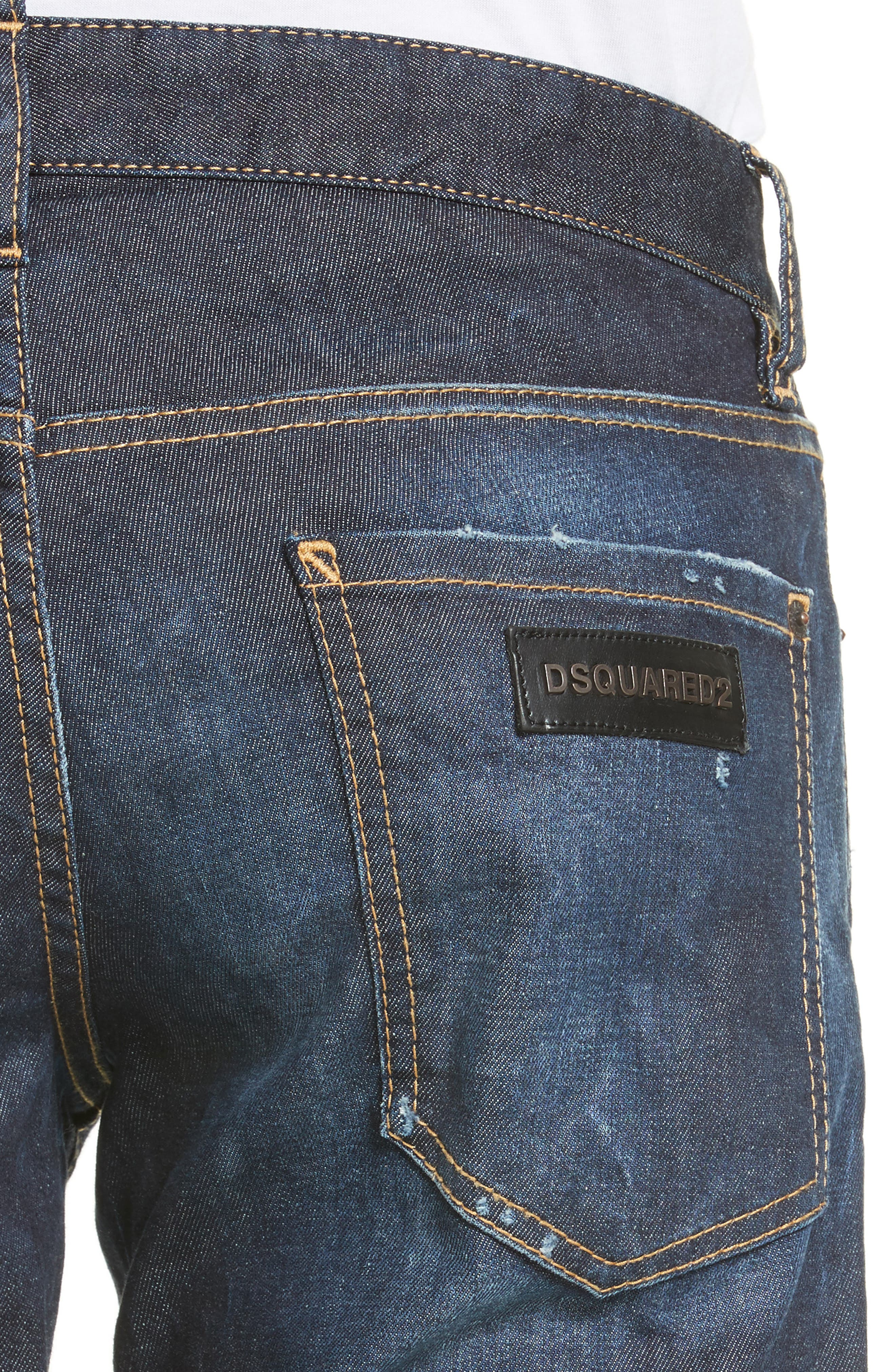 Slim Nothing Jeans,                             Alternate thumbnail 4, color,                             BLUE