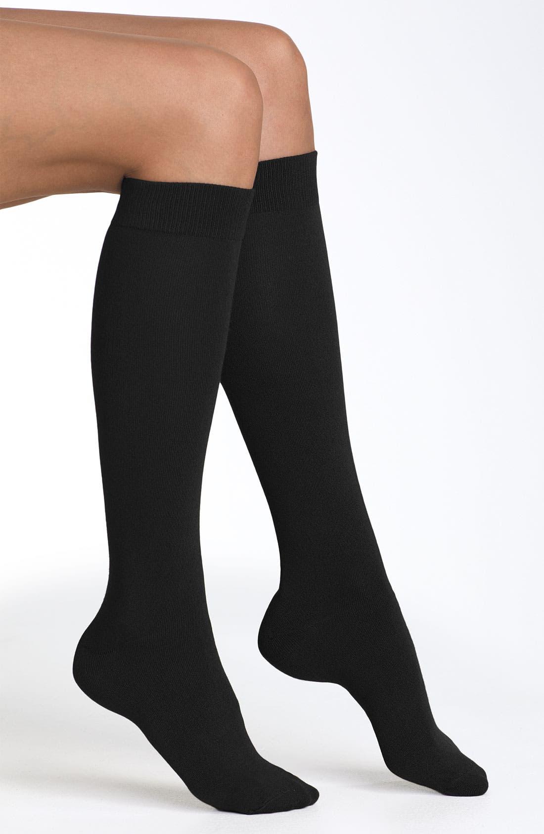 Knee High Socks,                             Main thumbnail 1, color,                             001