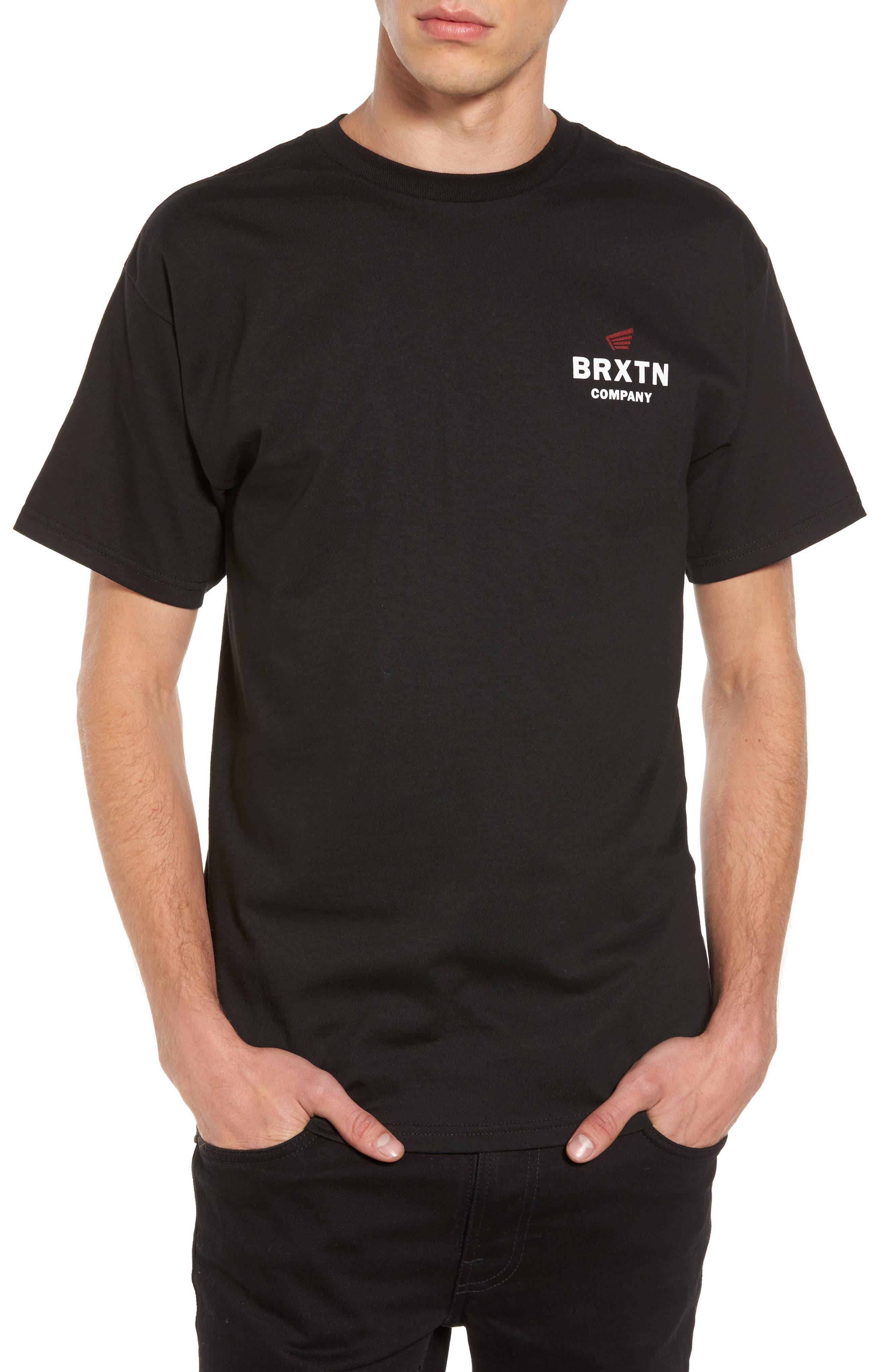 Peabody Standard T-Shirt,                             Main thumbnail 1, color,                             001