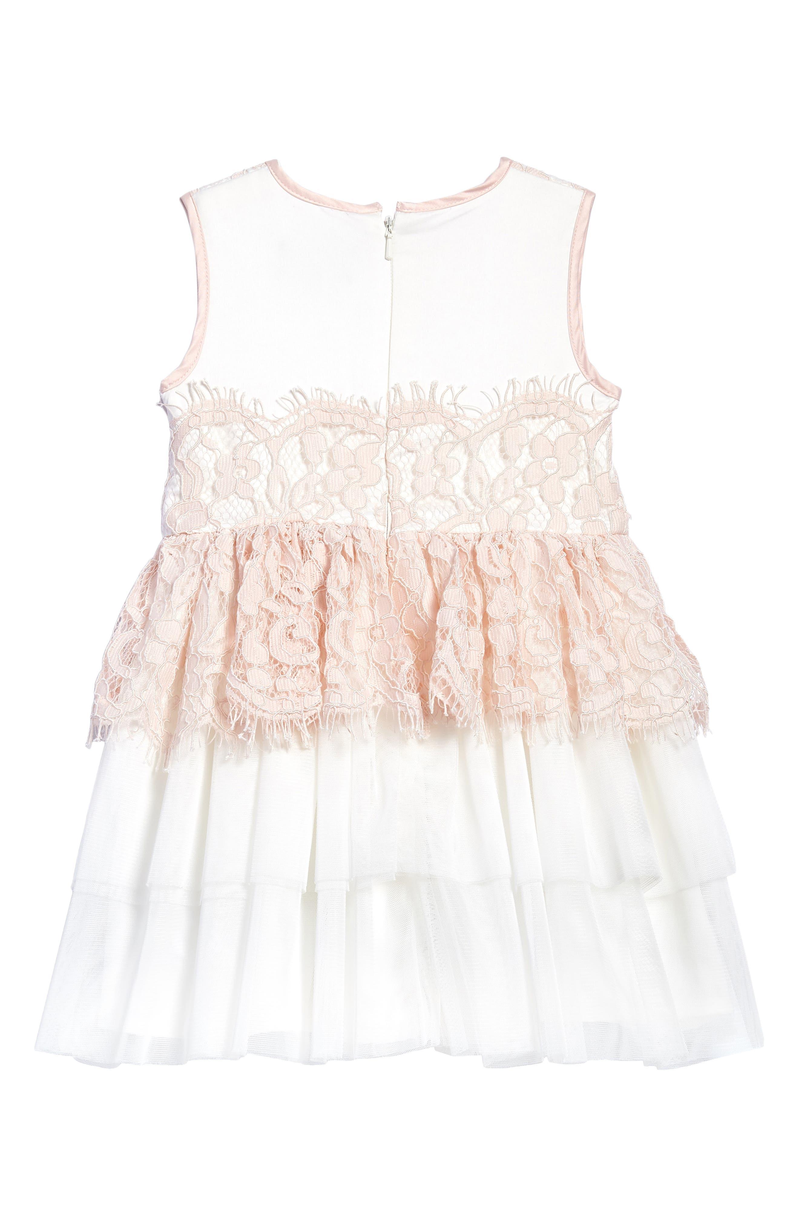 Lace Dress,                             Alternate thumbnail 2, color,                             695
