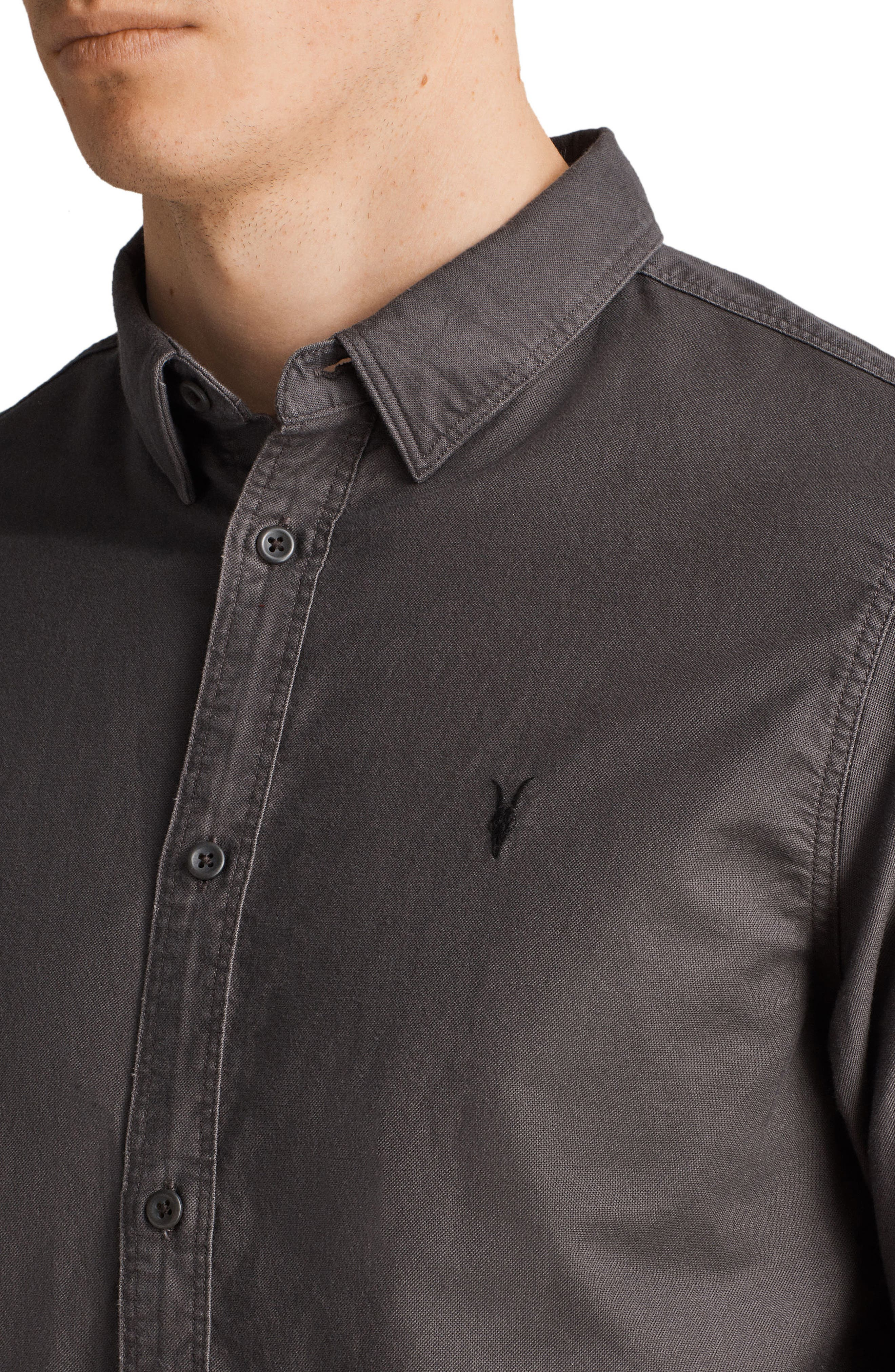 Huntington Regular Fit Sport Shirt,                             Alternate thumbnail 15, color,