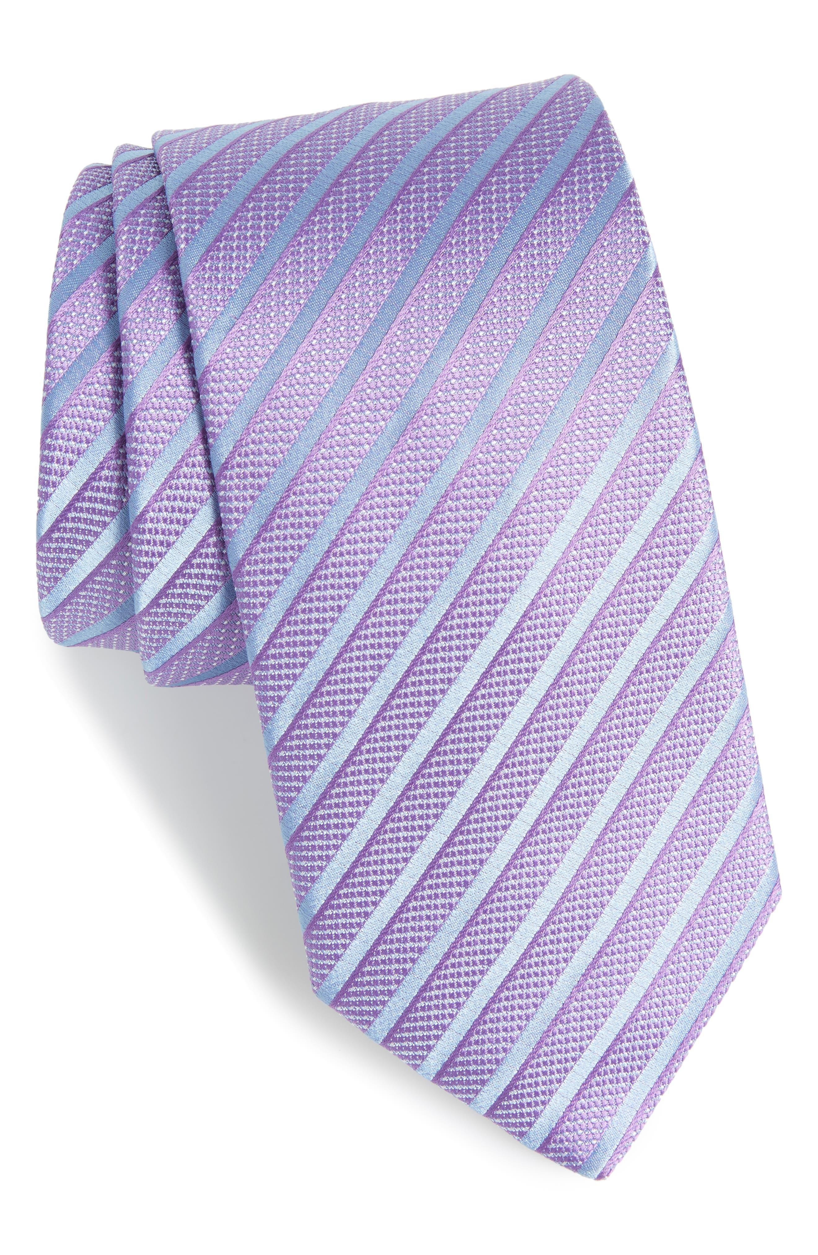 Stripe Silk Tie,                             Main thumbnail 2, color,