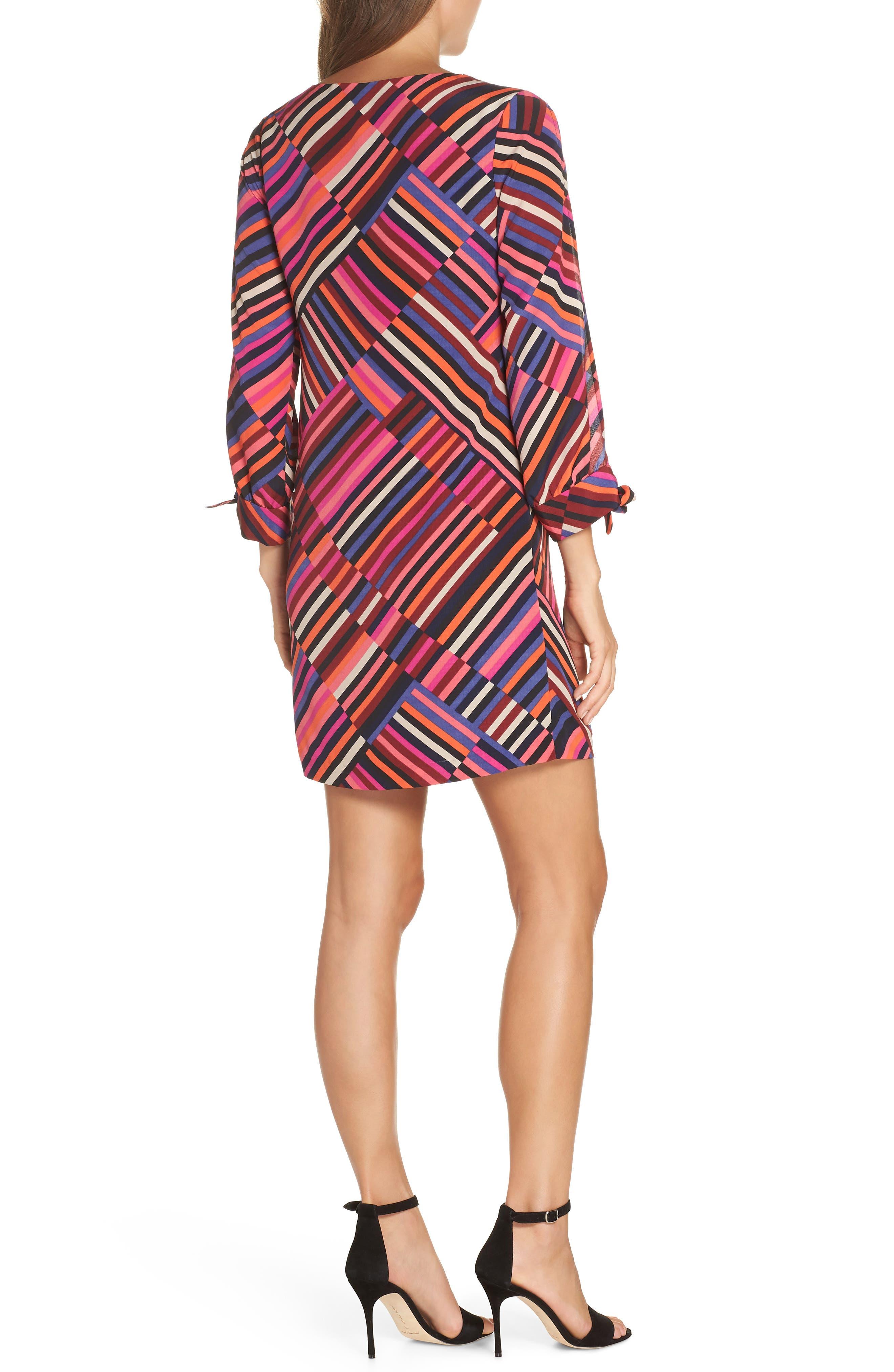 Jaxon Chiffon Dress,                             Alternate thumbnail 2, color,                             MULTI