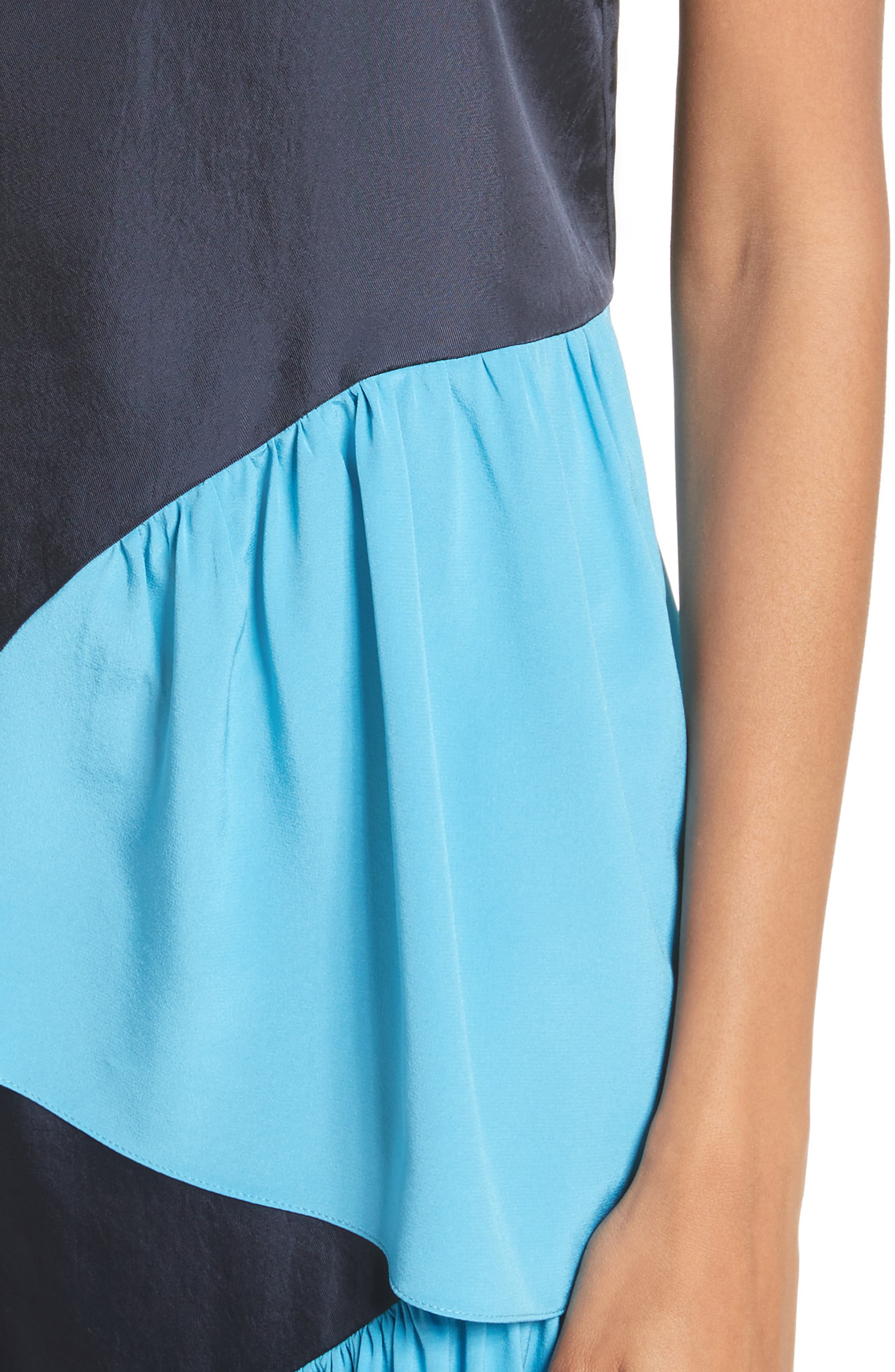 Shirred Colorblock Camisole,                             Alternate thumbnail 4, color,                             404
