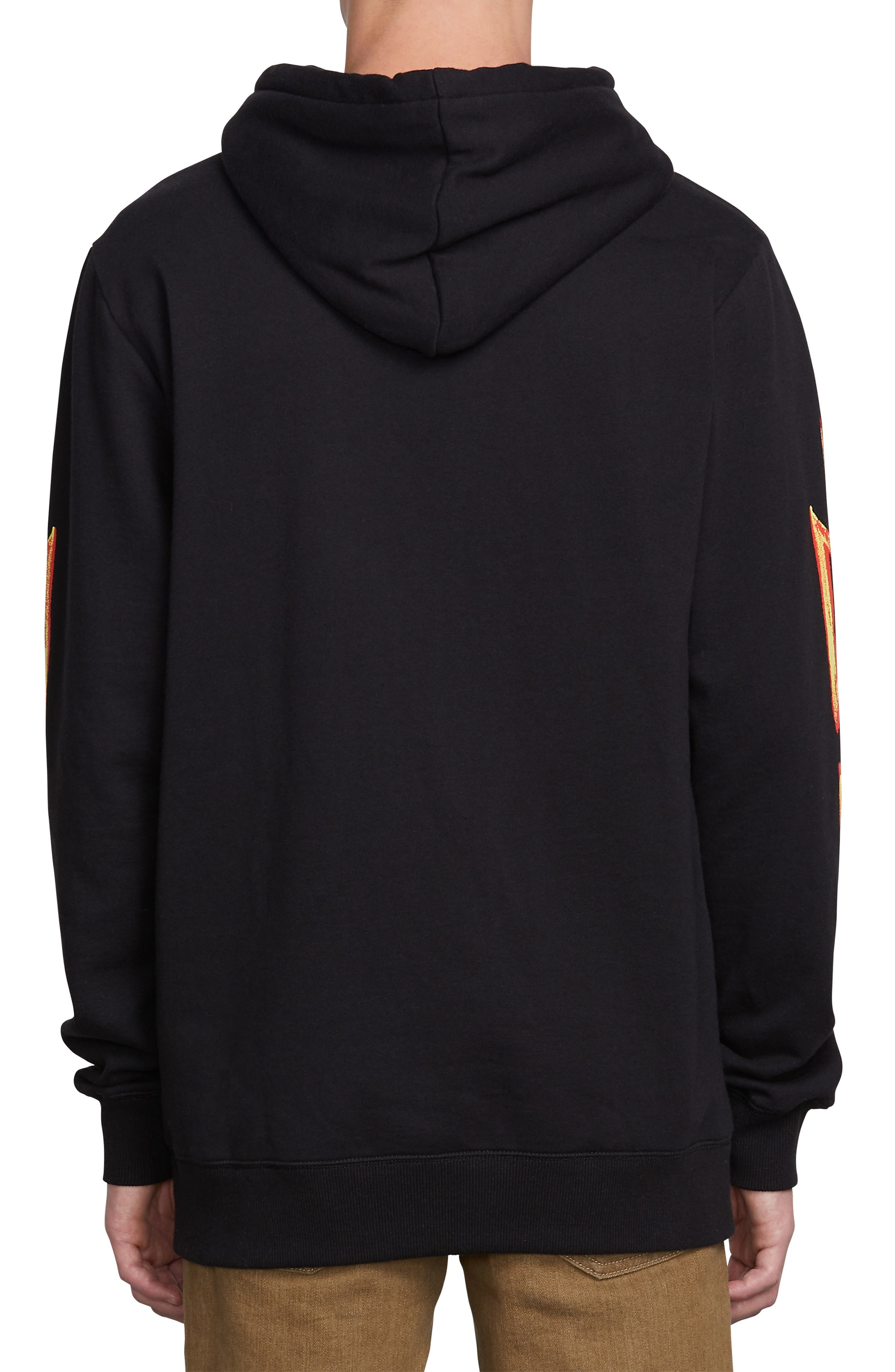 Reload Graphic Hoodie,                             Alternate thumbnail 2, color,                             BLACK