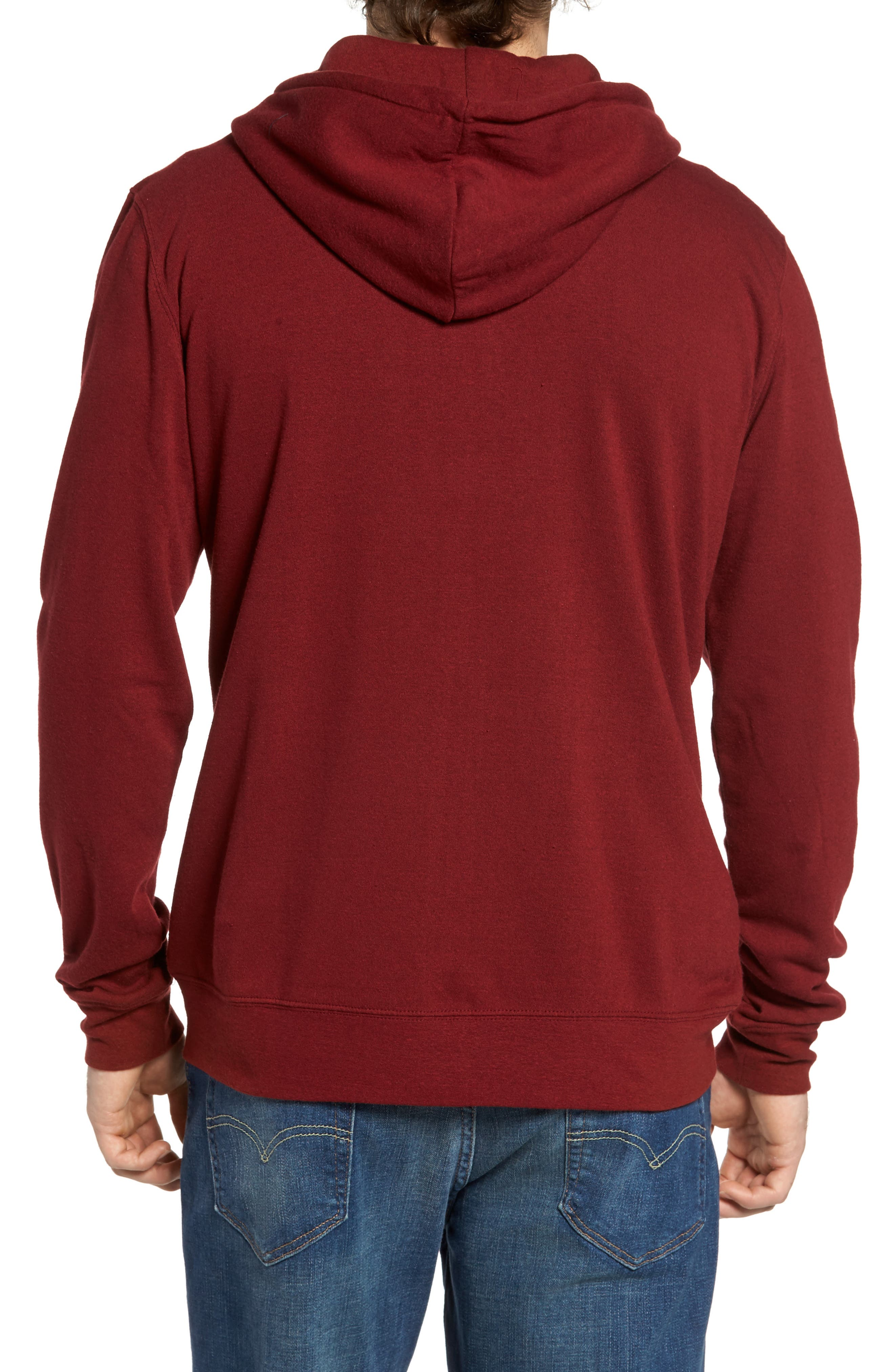 Threads for Thought Trim Fit Heathered Hoodie,                             Alternate thumbnail 33, color,