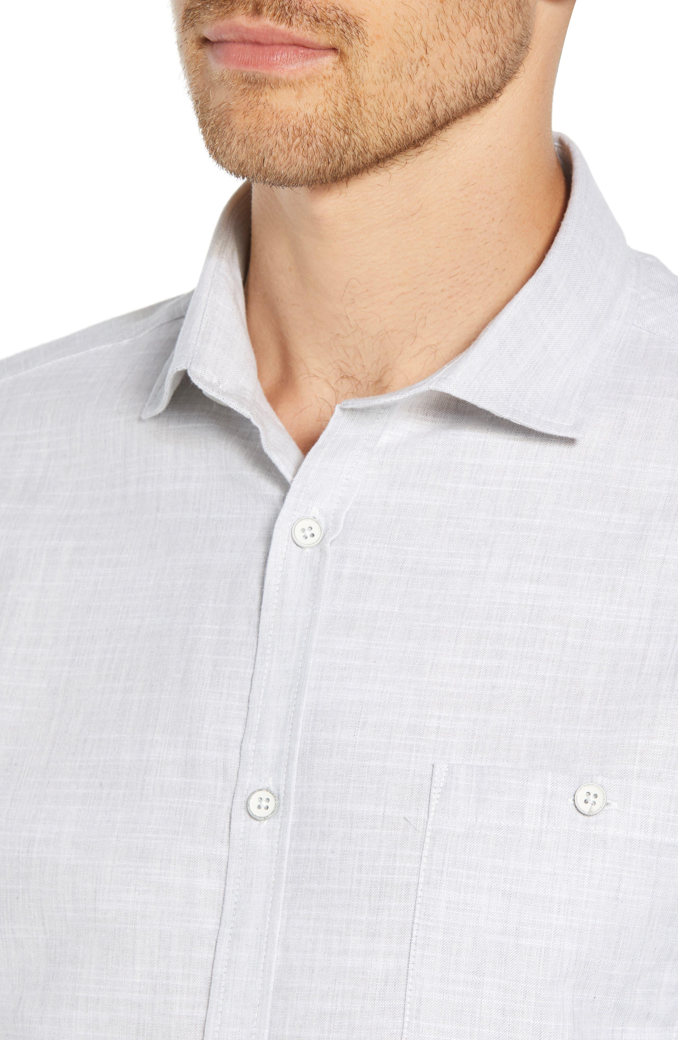 Rugger Regular Fit Sport Shirt,                             Alternate thumbnail 2, color,                             LIGHT GREY