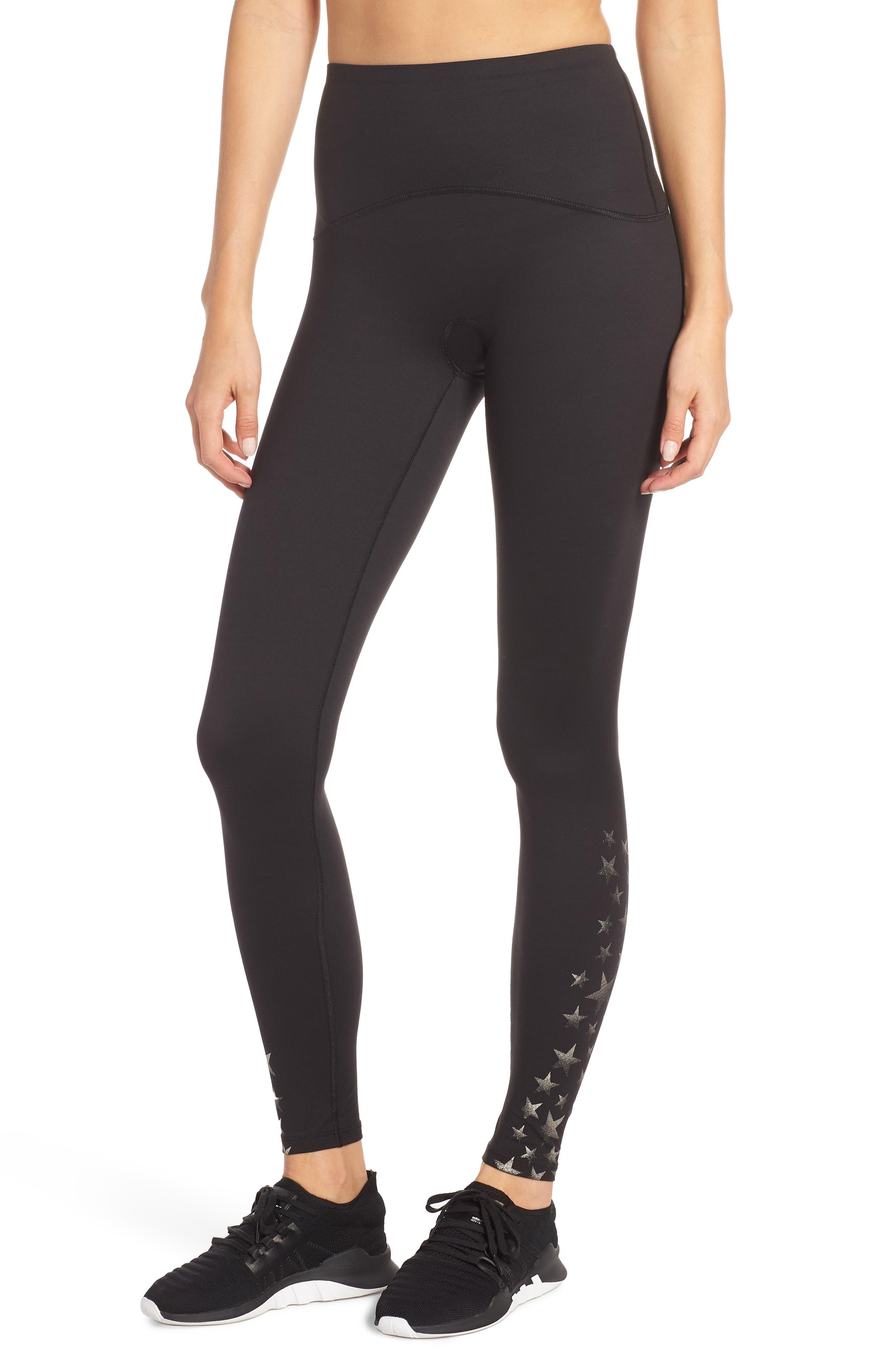 Active Full Length Leggings,                         Main,                         color, METALLIC STAR