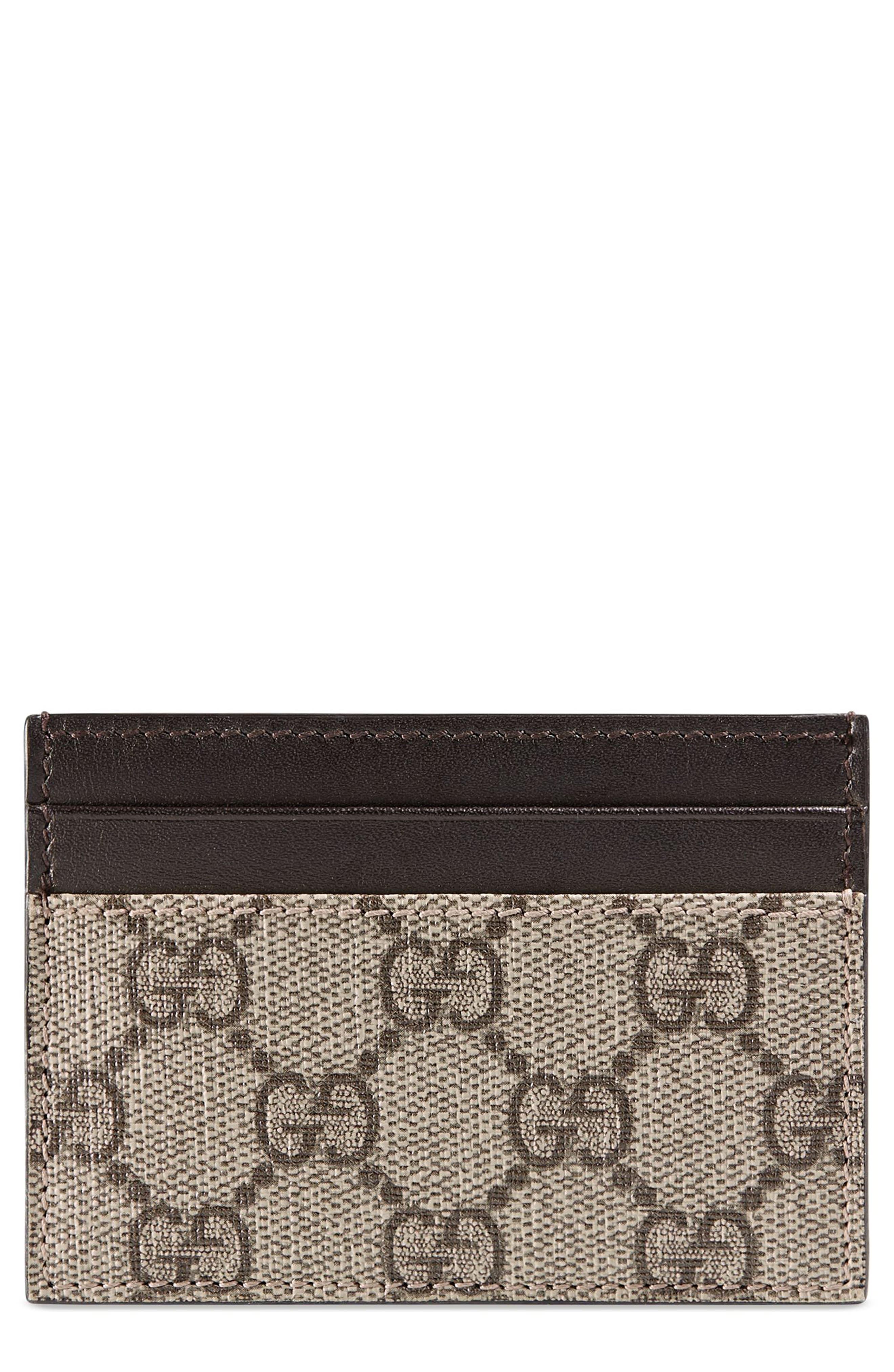 Supreme Canvas & Leather Money Clip, Main, color, 268